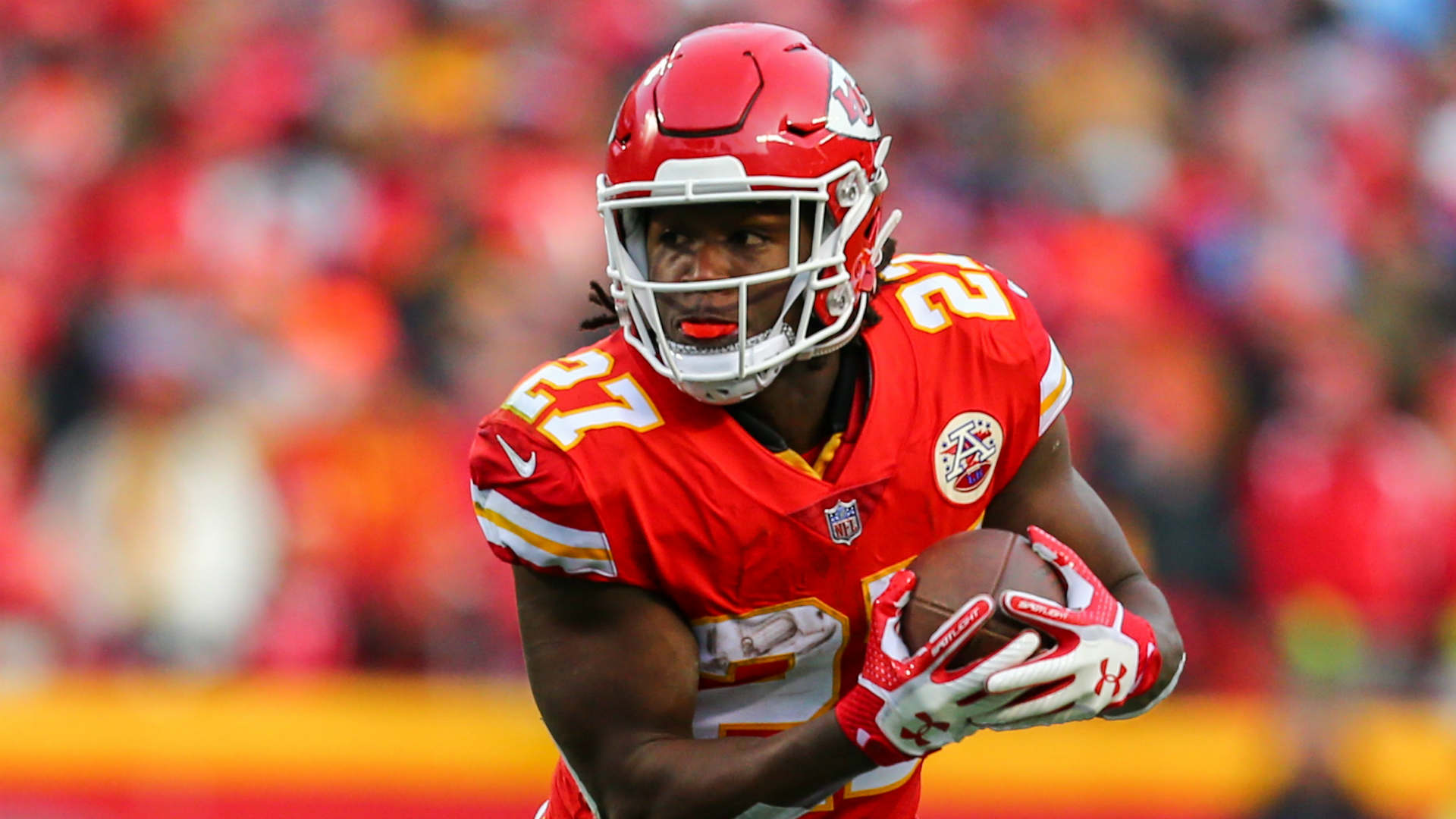 Cleveland Browns general manager John Dorsey discussed the team's signing of running back Kareem Hunt.