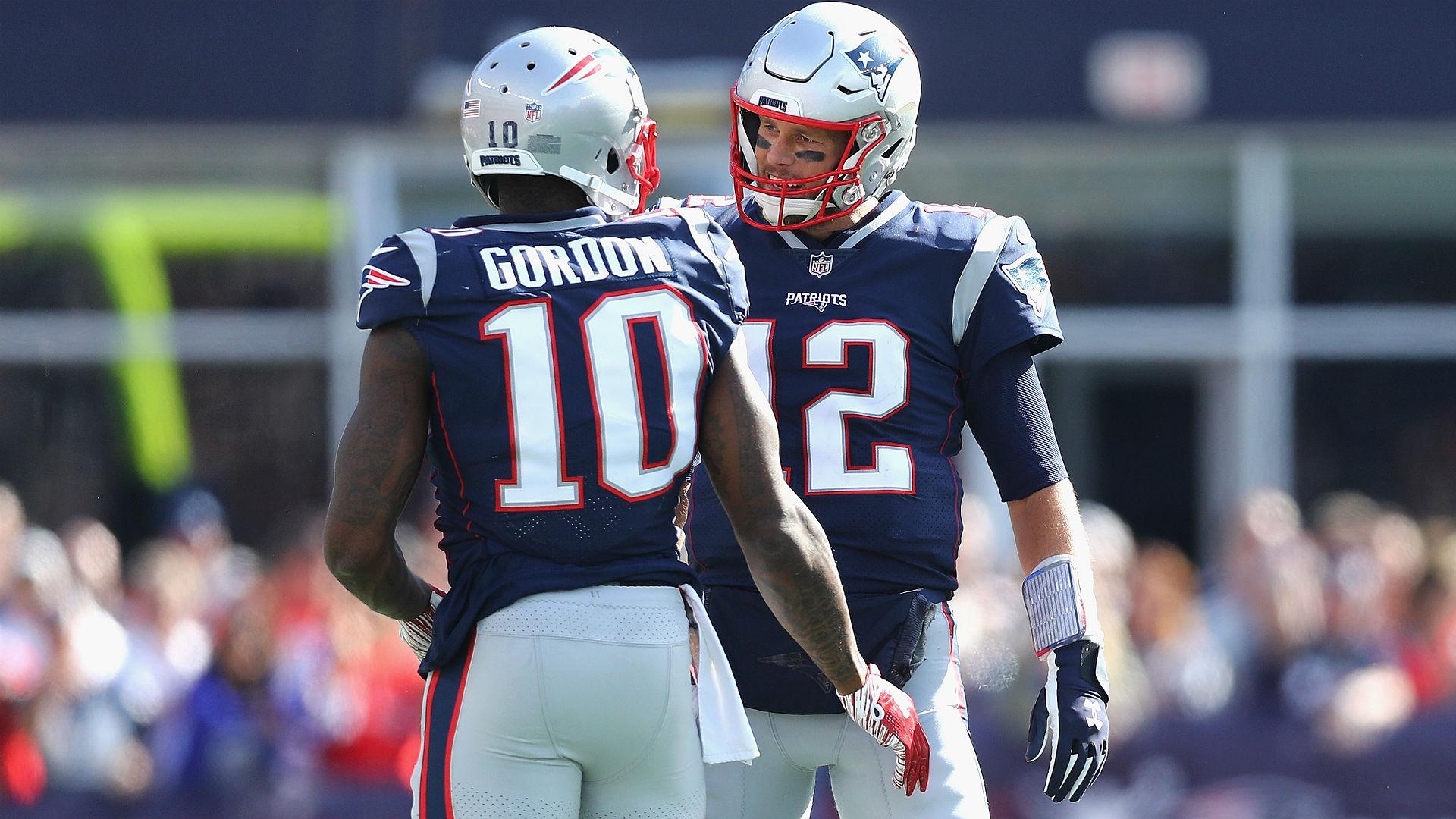 Tom Brady has impressed his New England Patriots team-mate Josh Gordon.