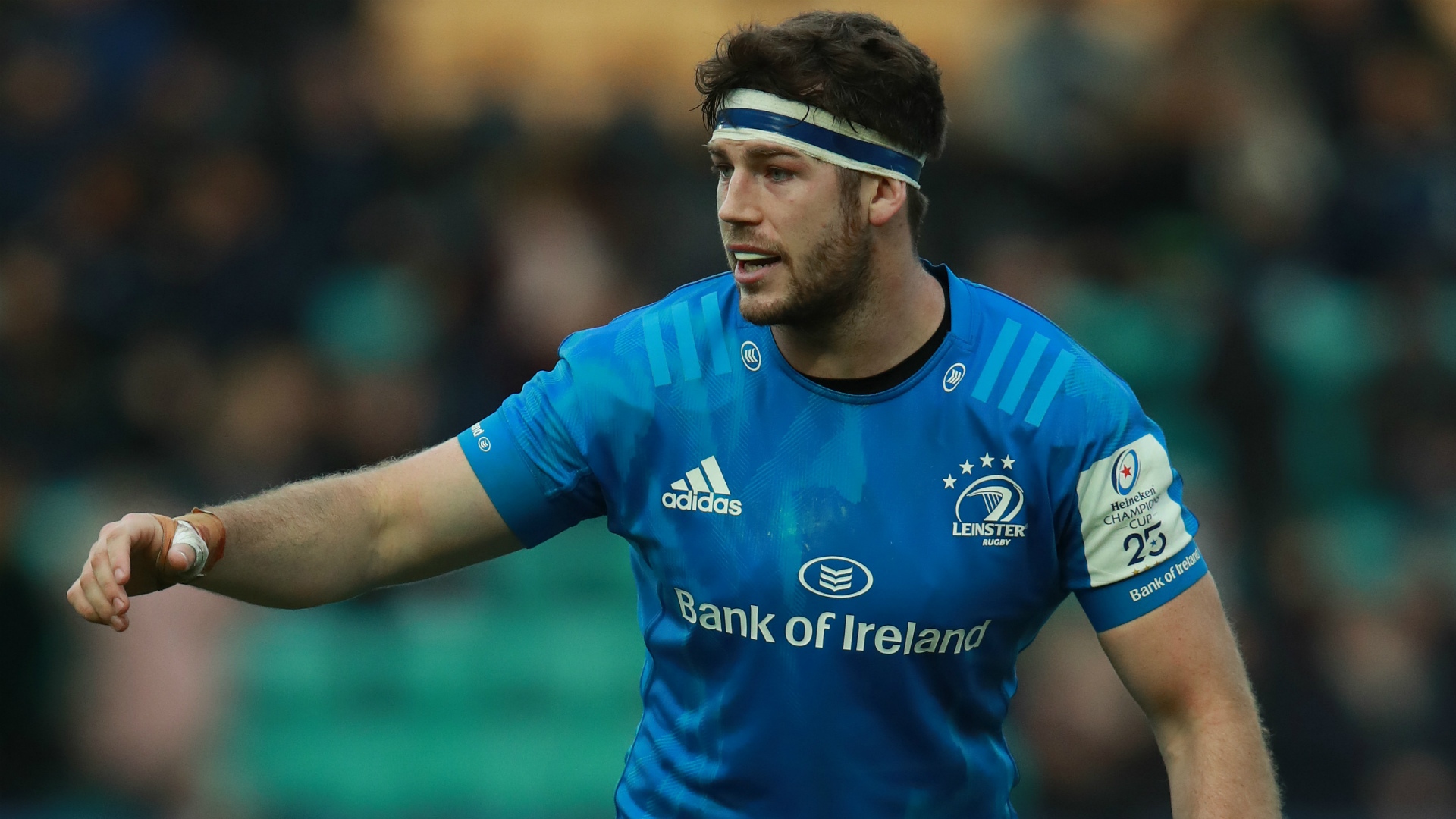 Johnny Sexton and Jordan Larmour have been joined by uncapped number eight Caelan Doris in Ireland's team to face Scotland.