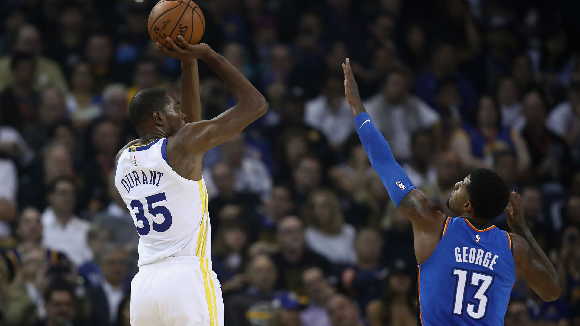 Curry, Durant lead GSW past OKC