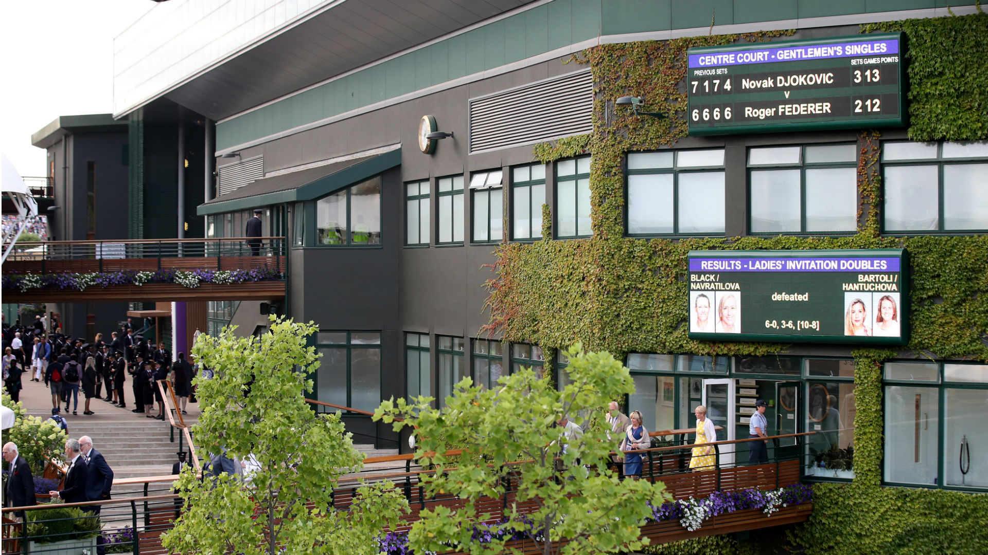 The AELTC will meet next week to decide what to do with Wimbledon, though it will not be played behind closed doors.