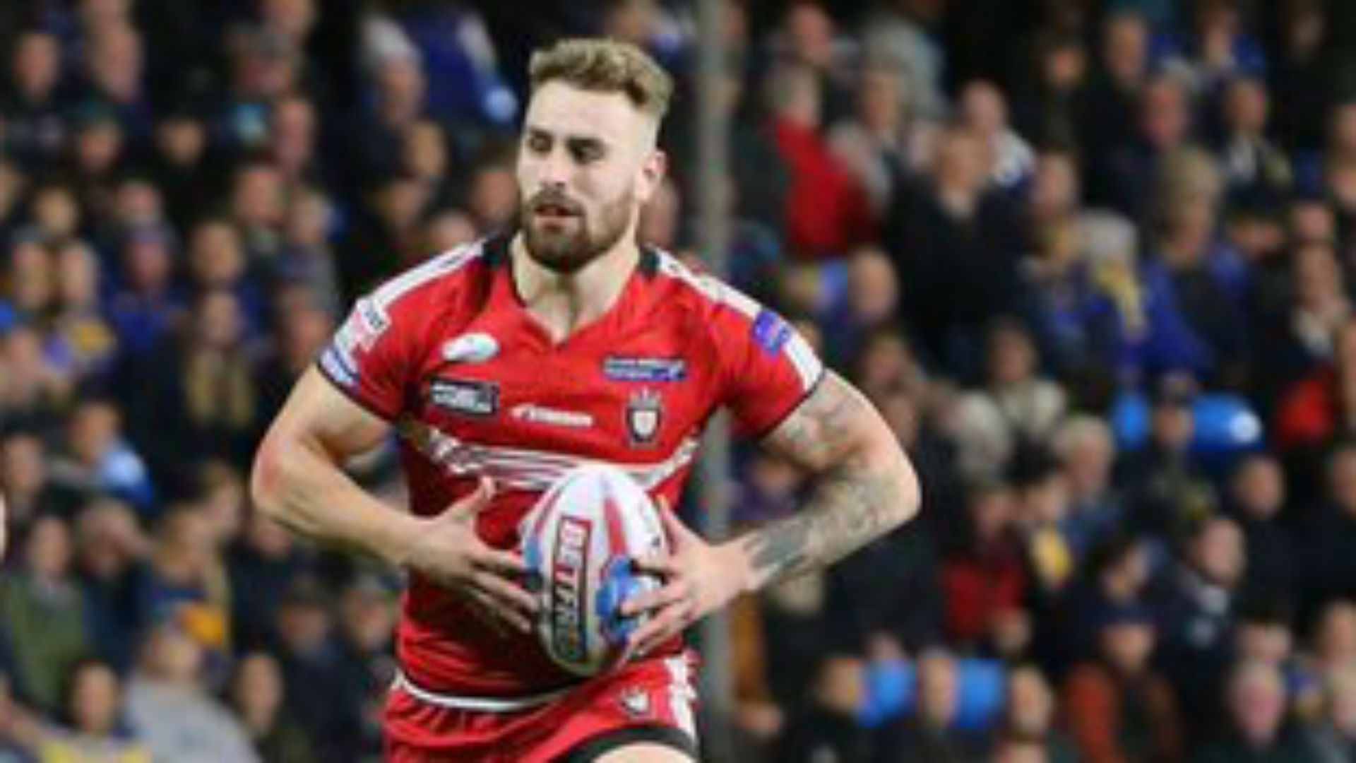 Salford Red Devils have confirmed former player Jansin Turgut is in hospital in Ibiza having reportedly sustained a head injury in a fall.