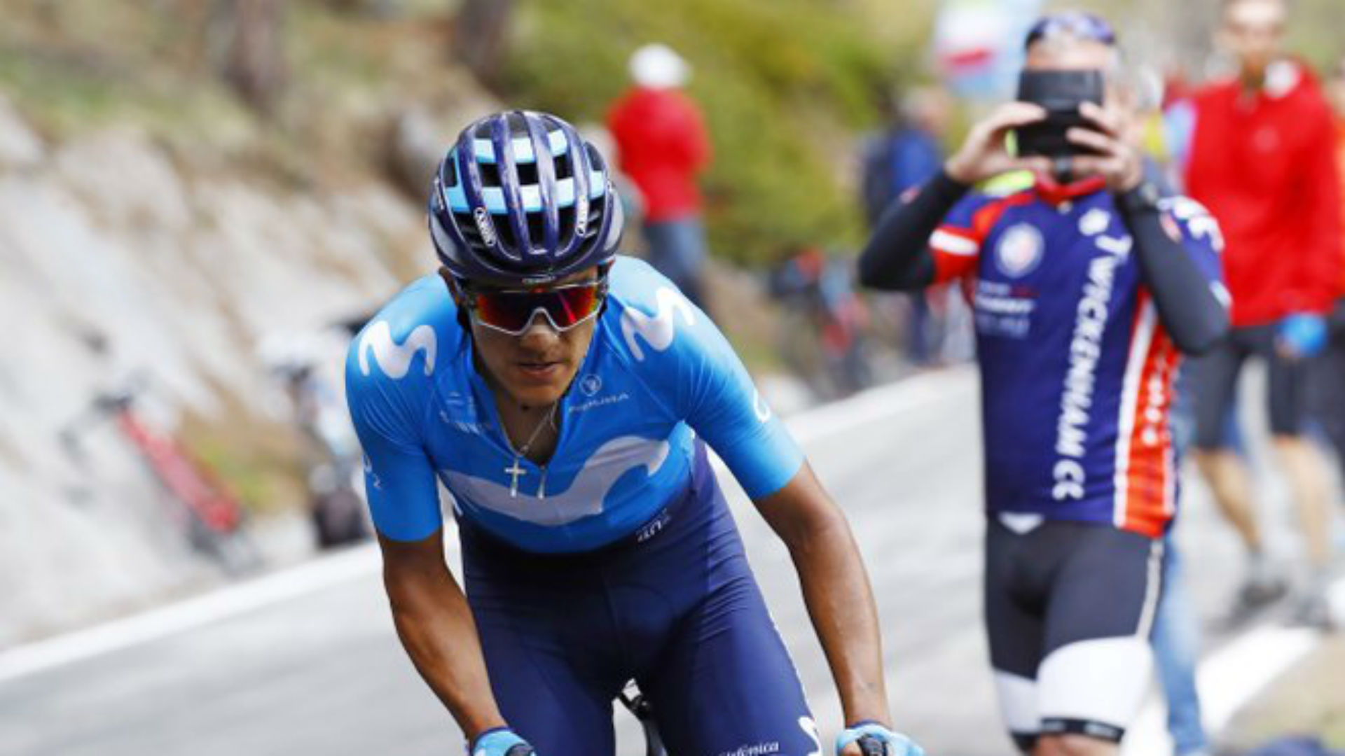 Richard Carapaz will not start the final Grand Tour race of the year due to injuries sustained in a crash in the Netherlands.