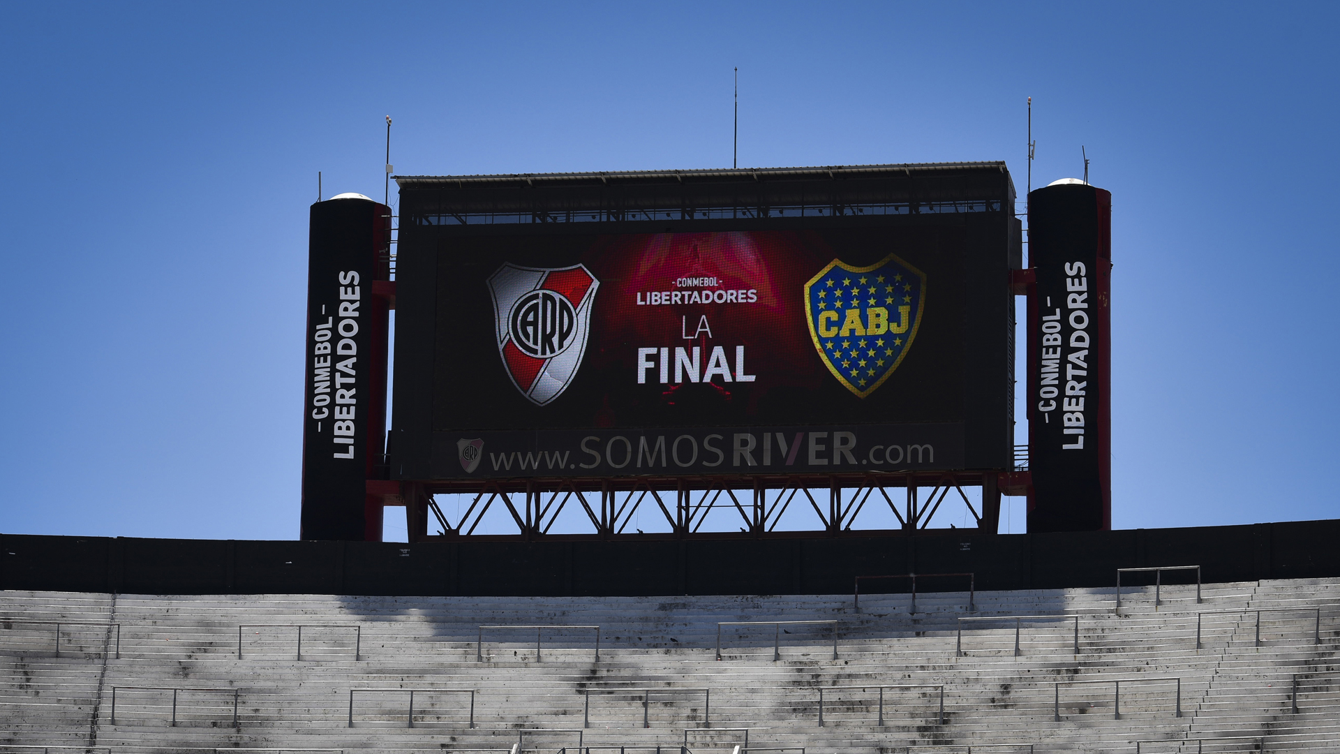 CONMEBOL rejected Boca Juniors' appeal against River Plate's Copa Libertadores punishment, meaning Sunday's final second leg will go ahead.