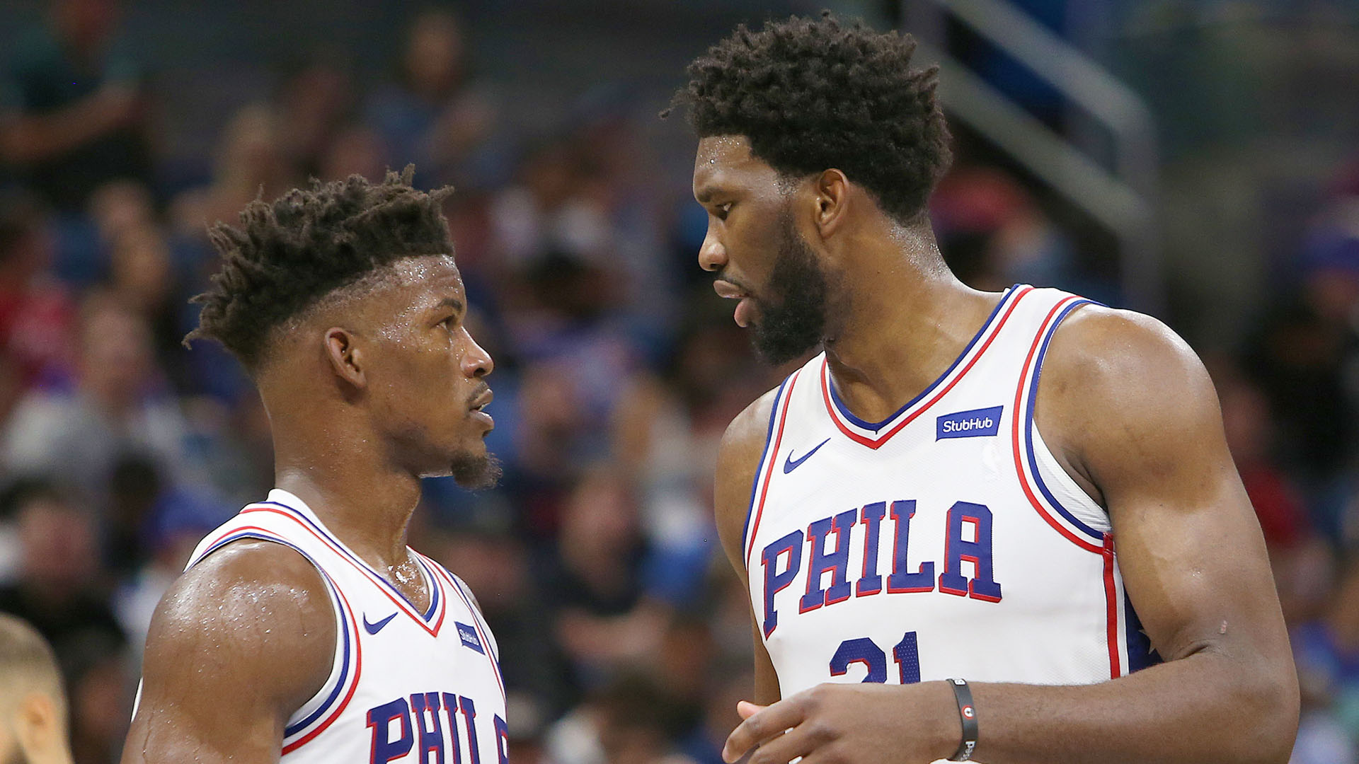 Embiid struggles because of Butler?