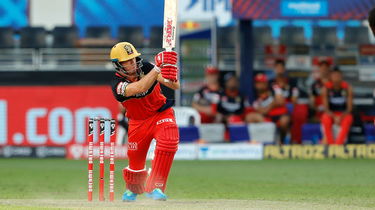 Royal Challengers Bangalore's IPL match against Rajasthan Royals was in the balance until AB De Villiers made his move.