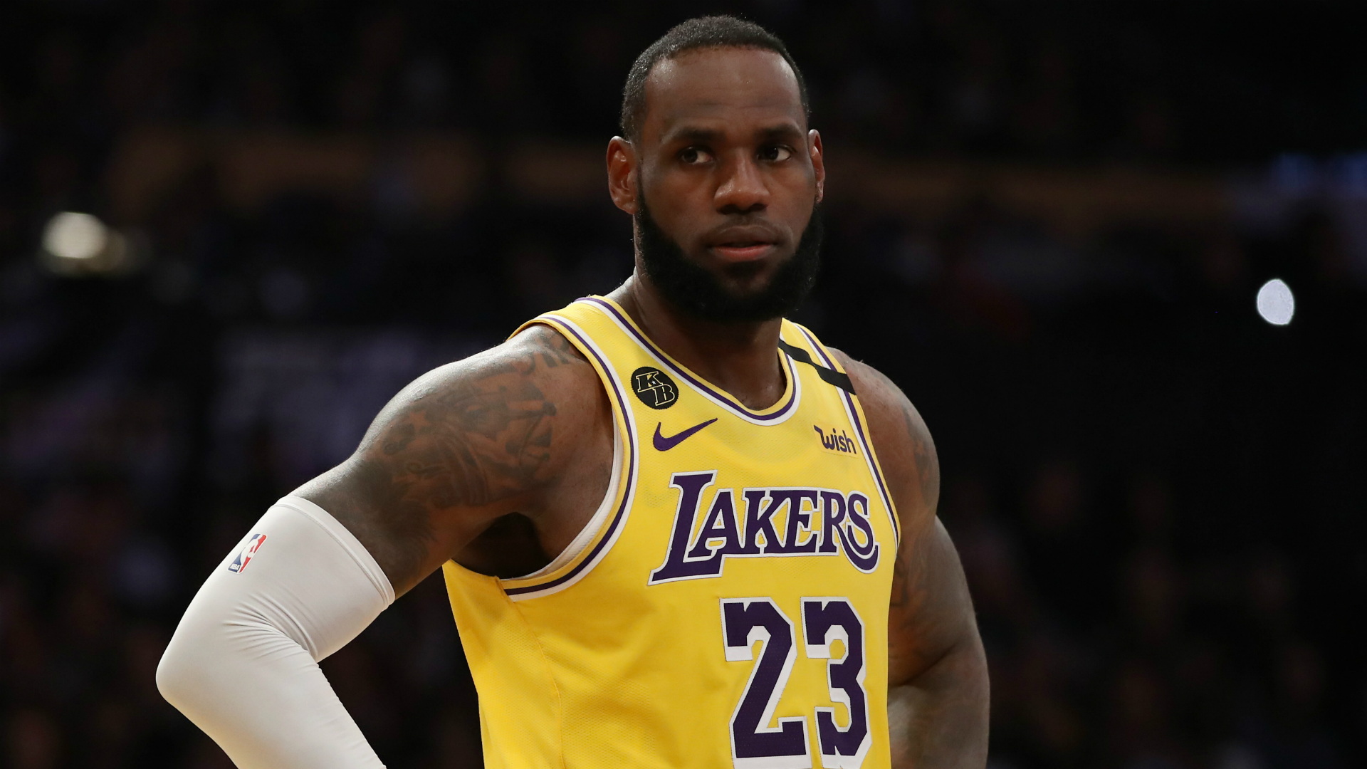 Los Angeles Lakers star LeBron James discussed the NBA's hiatus due to COVID-19.