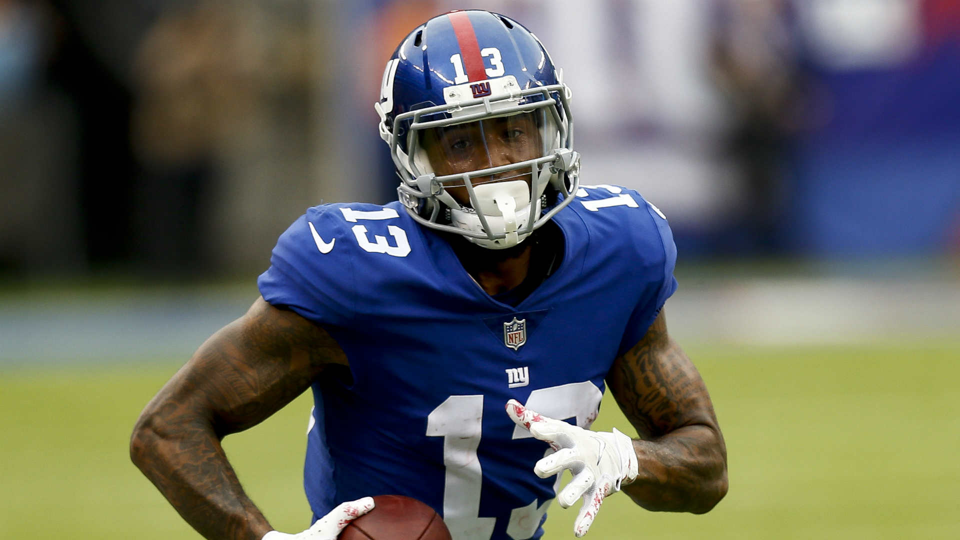 Having sealed a move to the Cleveland Browns, Odell Beckham Jr addressed the New York Giants team, staff and fans.