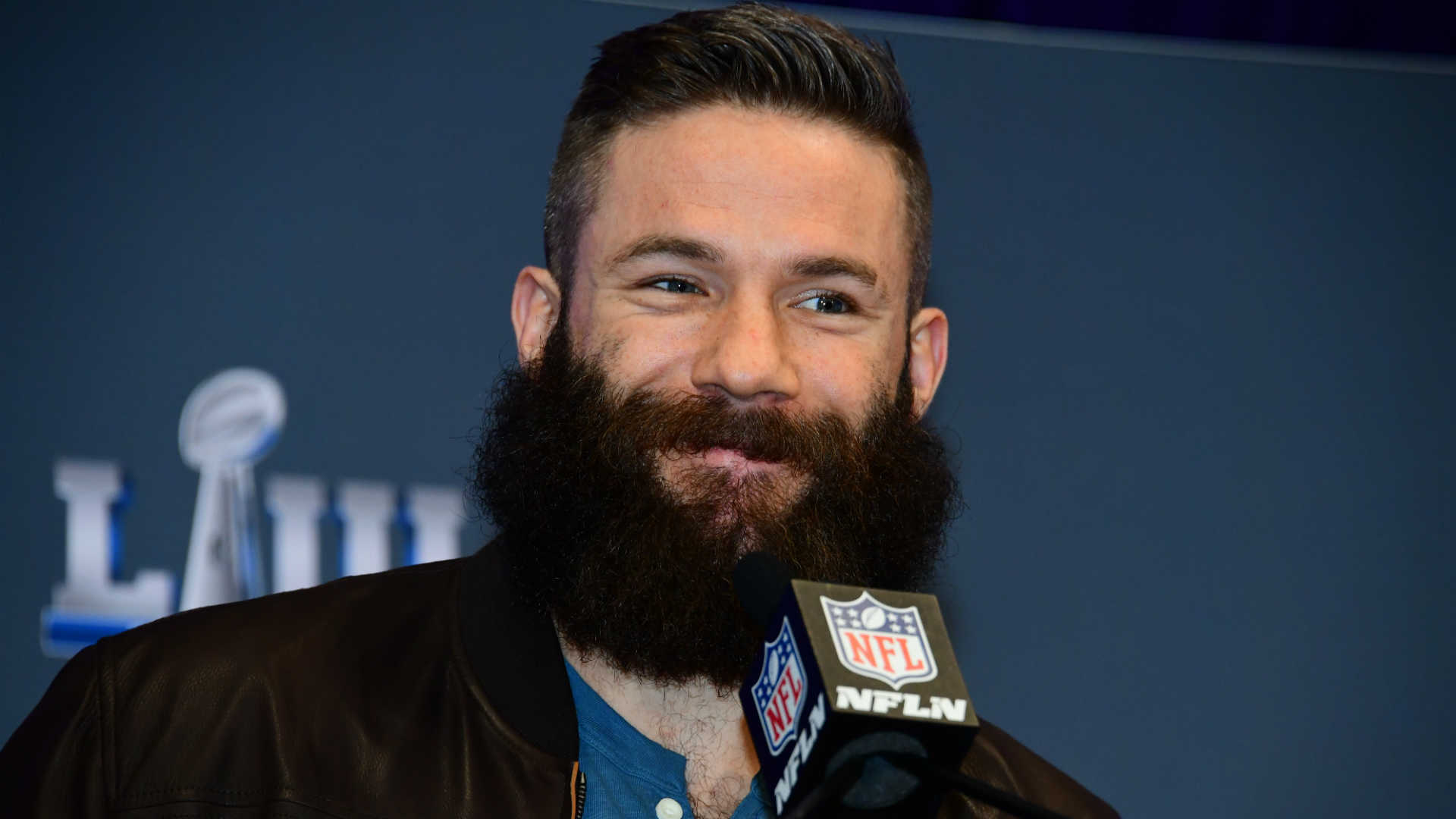 Julian Edelman's beard is no more after talkshow host Ellen DeGeneres shaved the Super Bowl LIII MVP's facial hair off for charity.