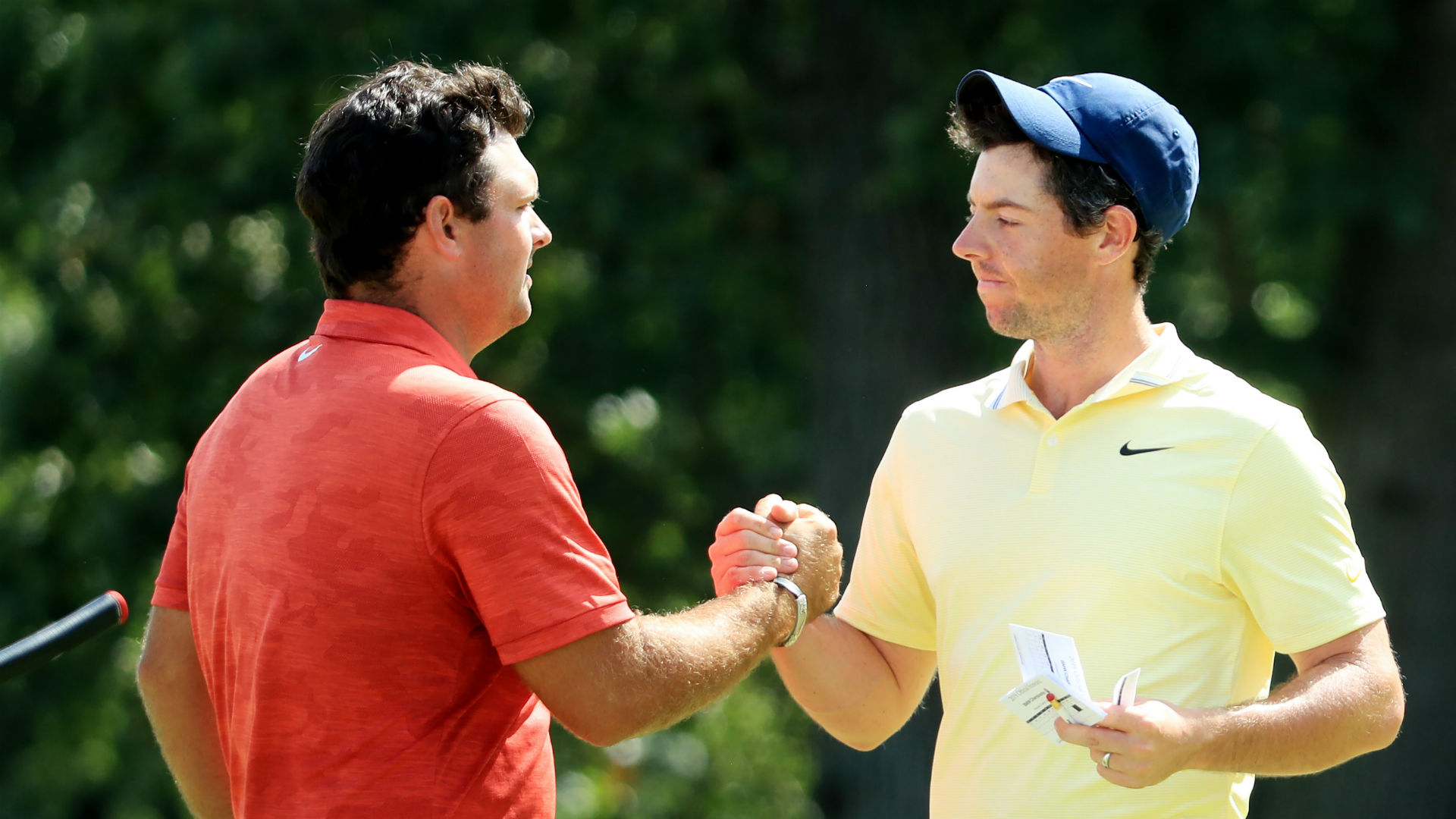 Patrick Reed has been on the defensive after becoming embroiled in controversy at the Hero World Challenge, with Rory McIlroy on his side.