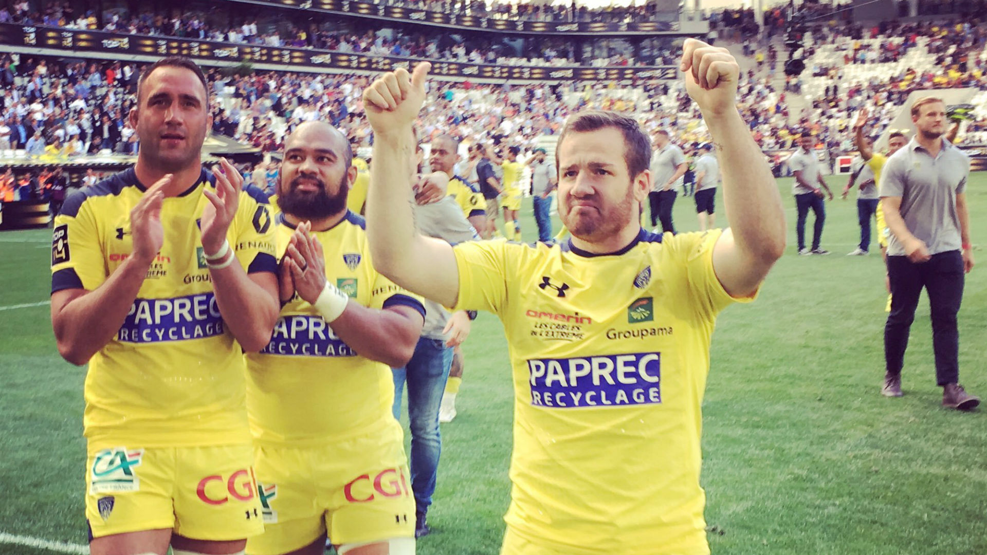 Clermont reach Top 14 final