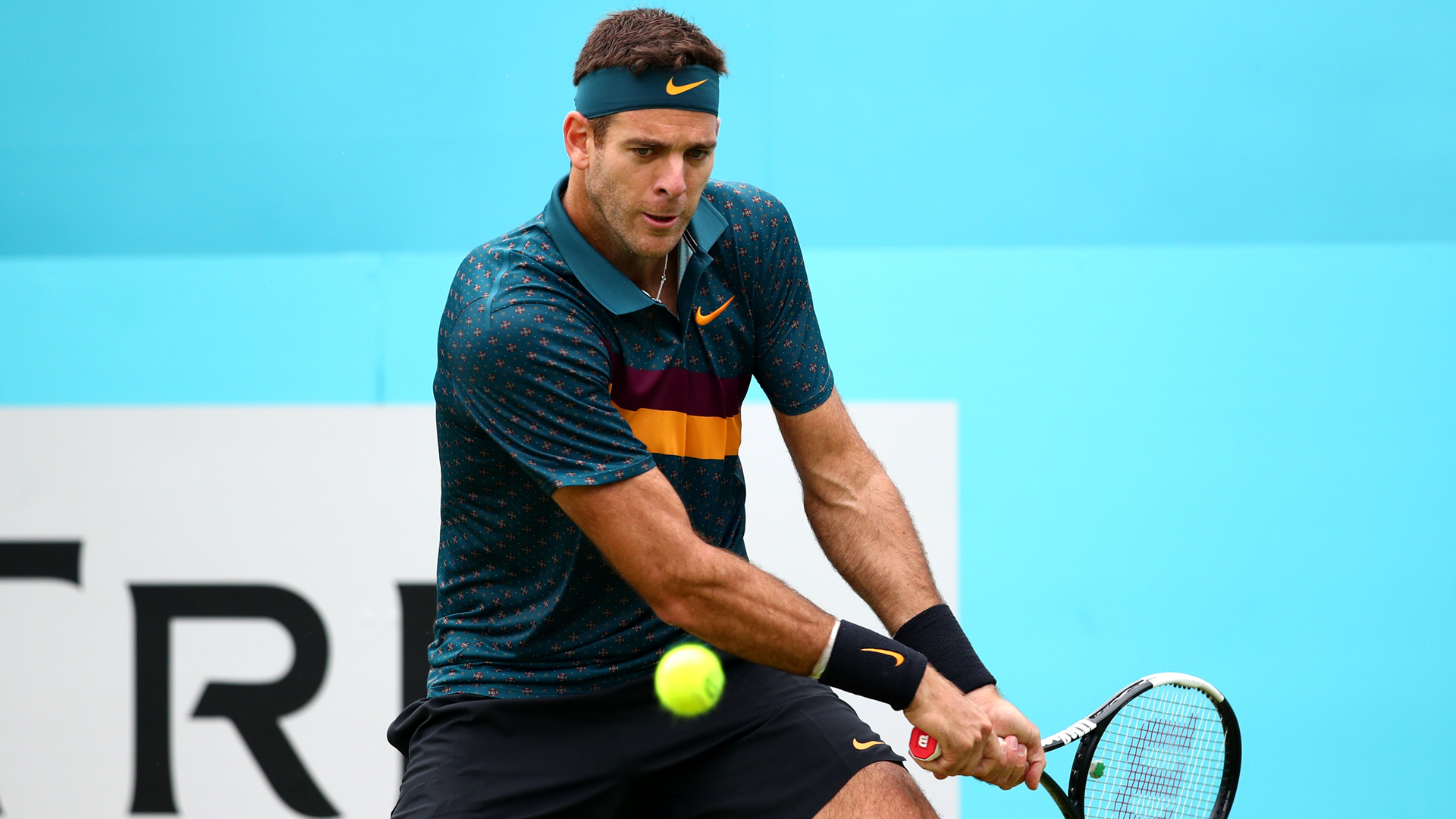 Former US Open champion Juan Martin del Potro said his recovery from knee surgery had been challenging.
