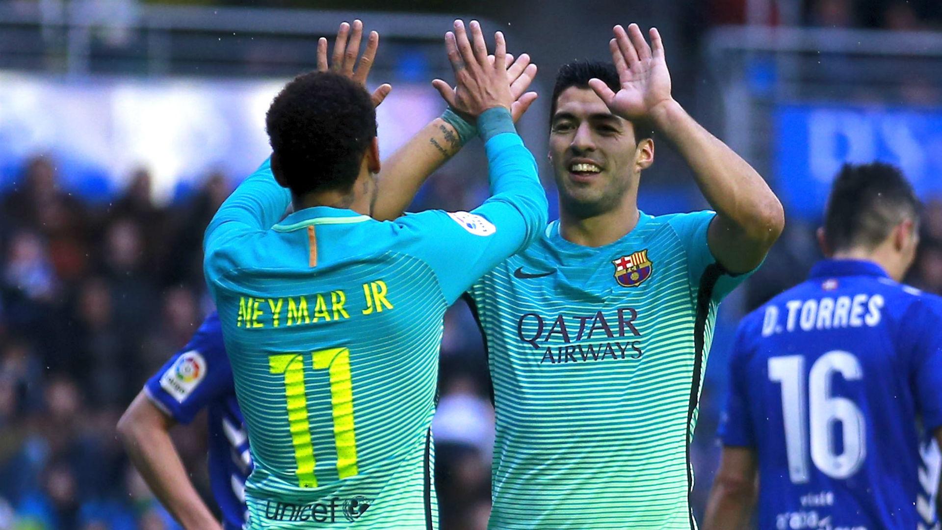 Suarez would approve Neymar reunion