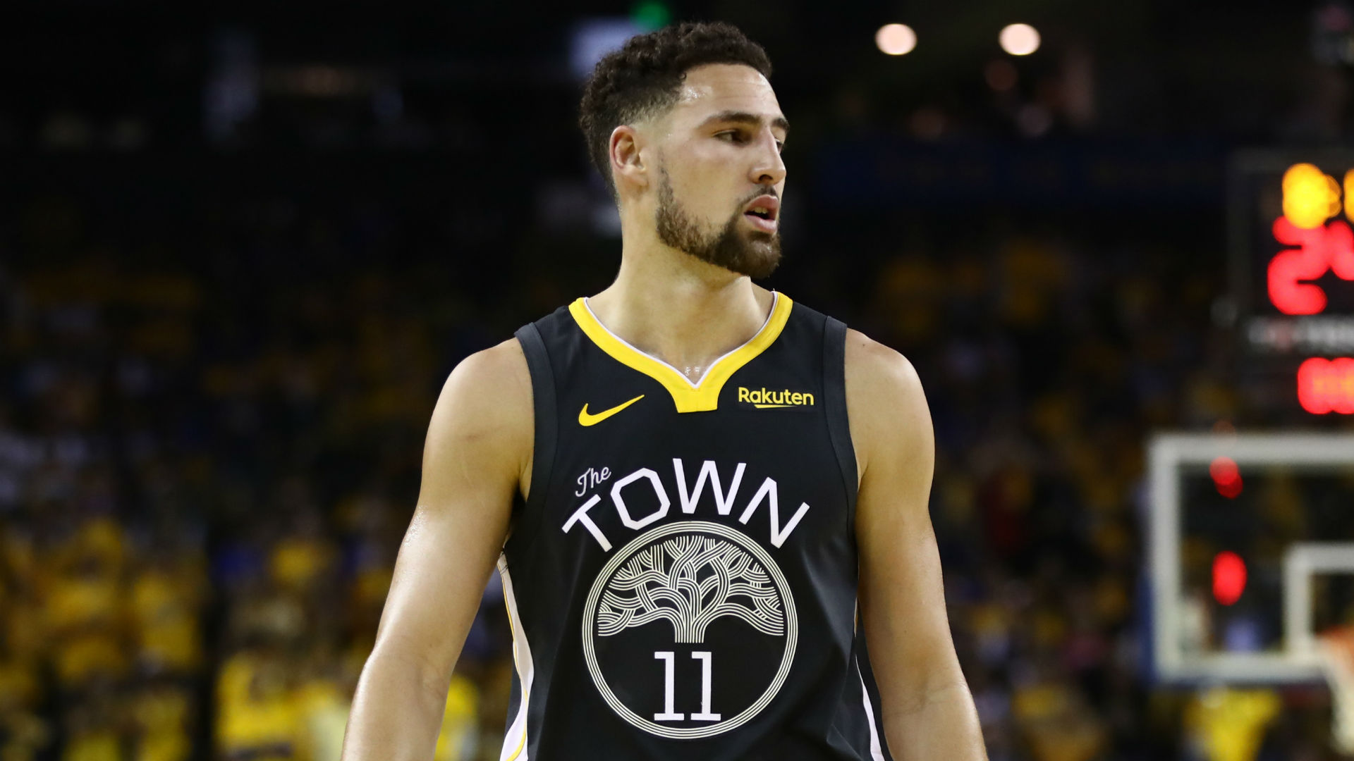 Golden State Warriors star Klay Thompson suffered a torn ACL back in June and is looking forward to the day he returns to action.