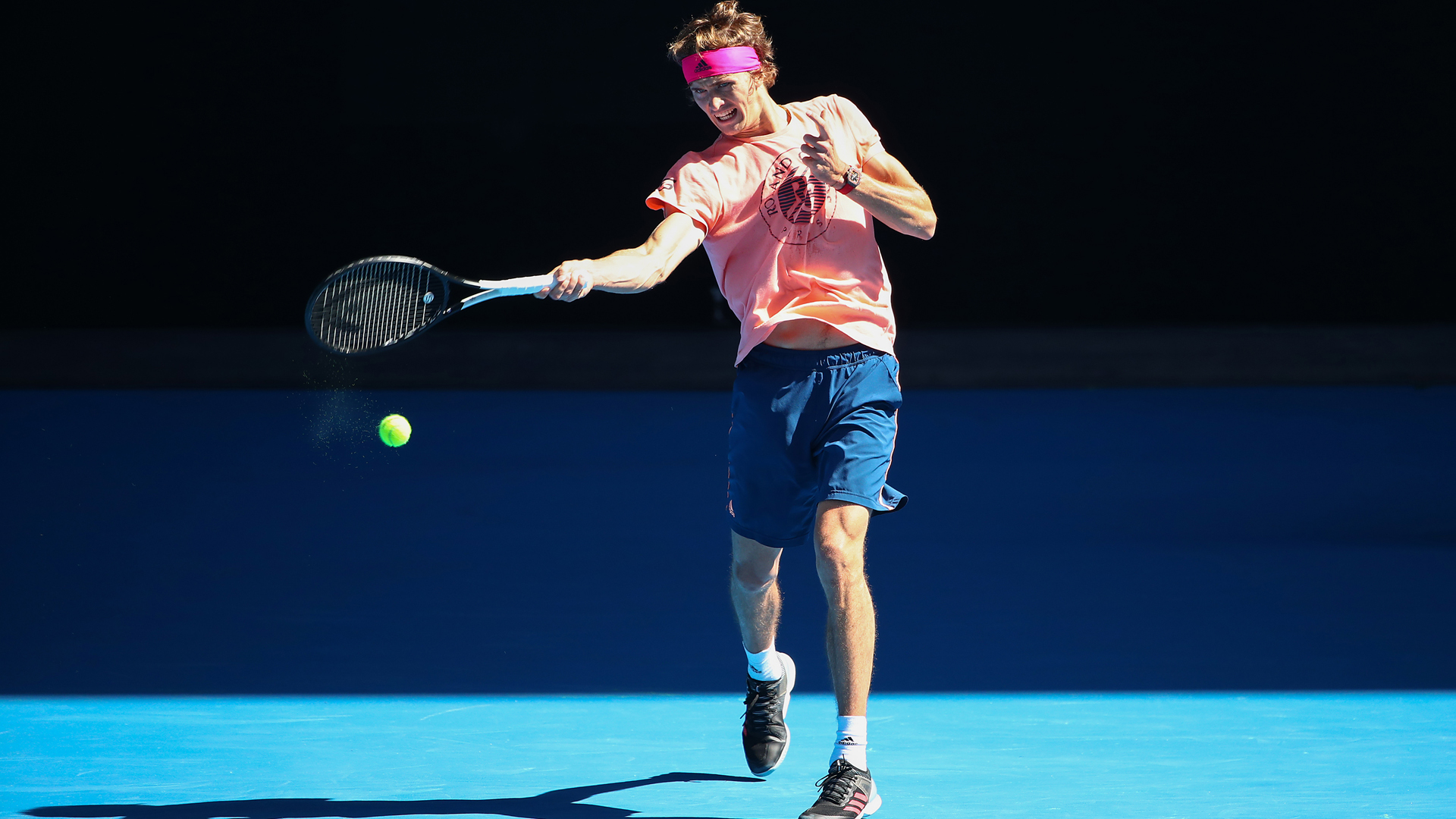 Alexander Zverev insisted his ankle injury would not be an issue at the Australian Open.