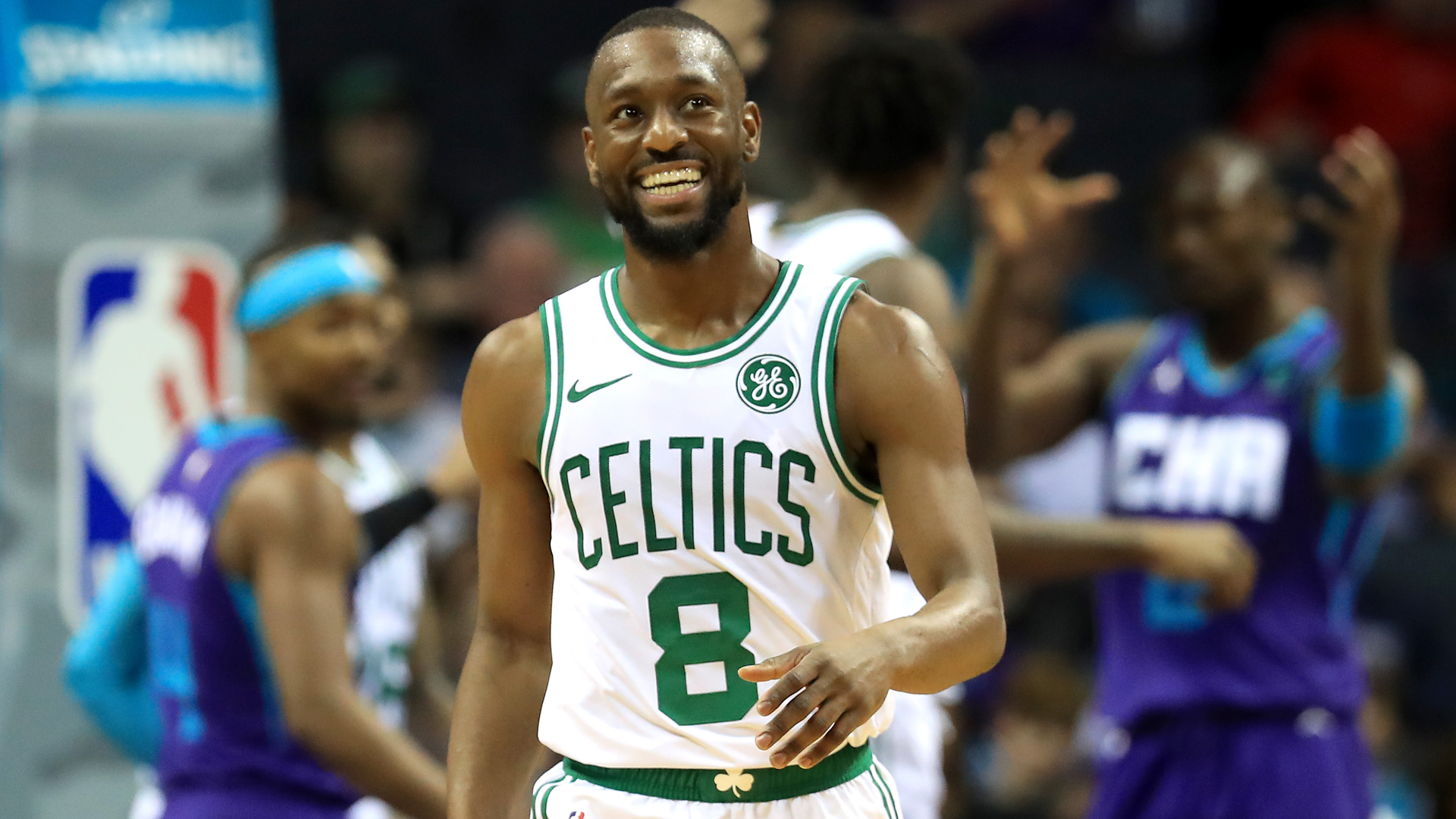 Kemba Walker returned to Charlotte as the Boston Celtics eased past the Hornets in the NBA.