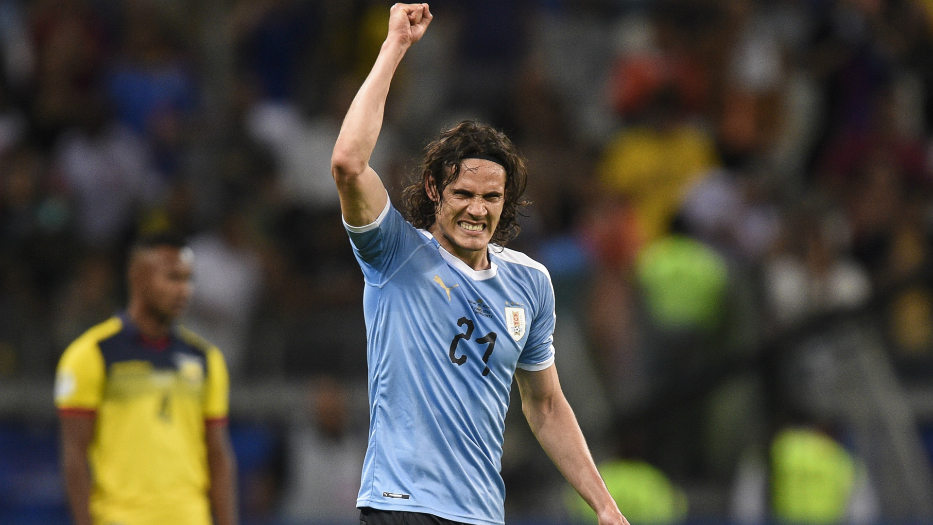 Edinson Cavani revelled in Sunday's result as Uruguay – Copa America's most successful team – eye their first title since 2011.