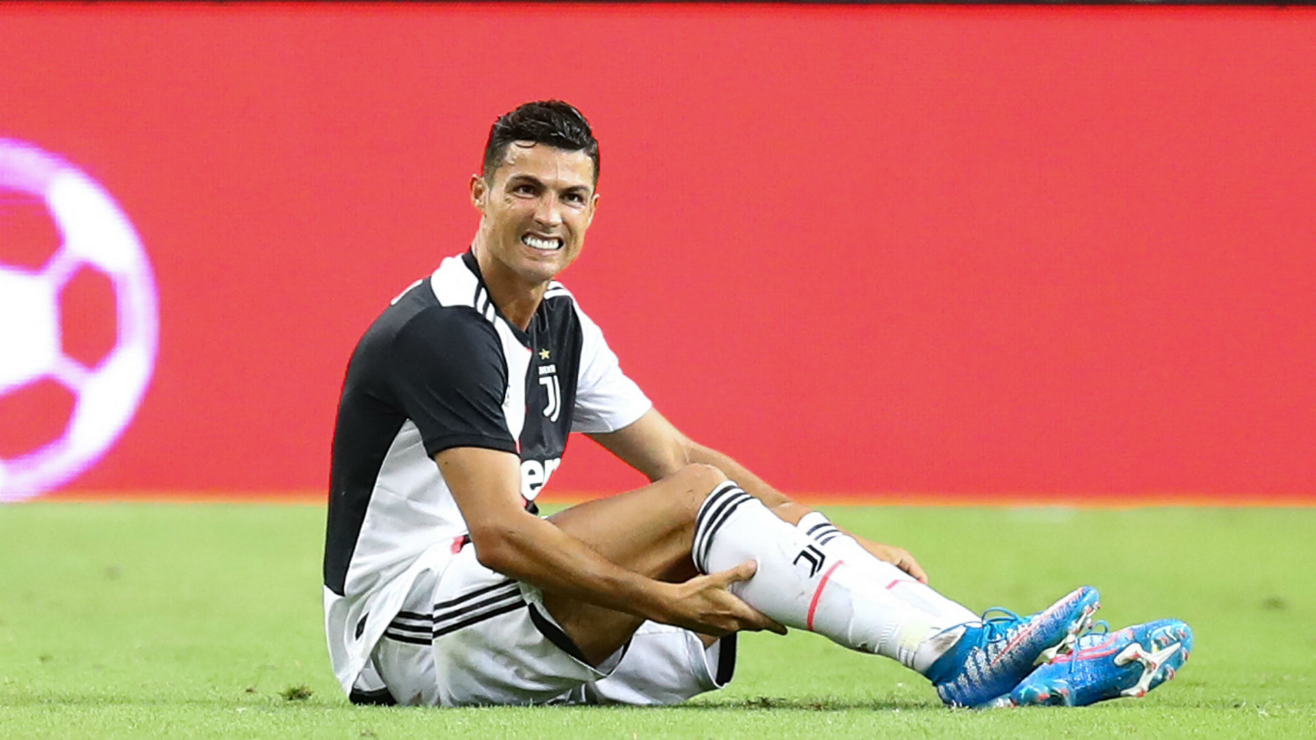 Juventus will not risk playing Cristiano Ronaldo in a practice match, with the 34-year-old suffering from a slight muscle fatigue.