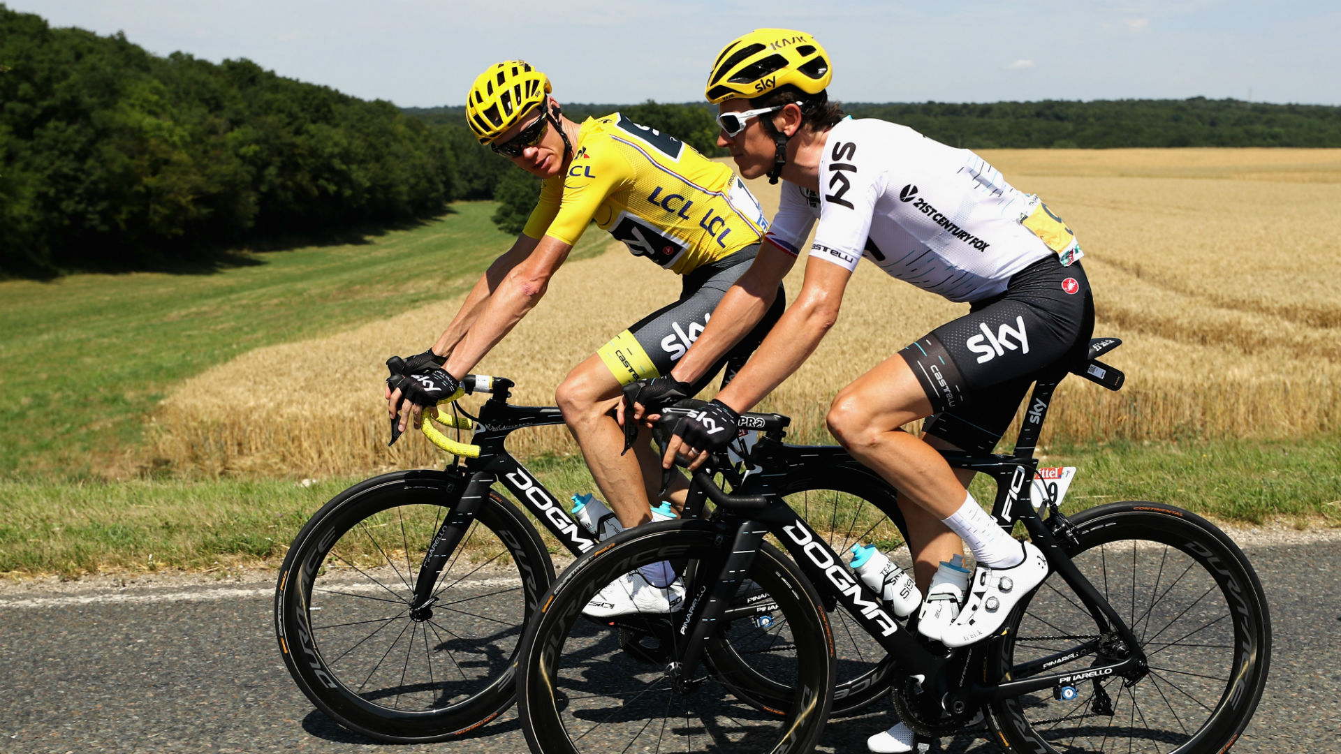 Reigning Grand Tour champions Chris Froome and Geraint Thomas expect to challenge again in 2019, despite Sky's looming departure.