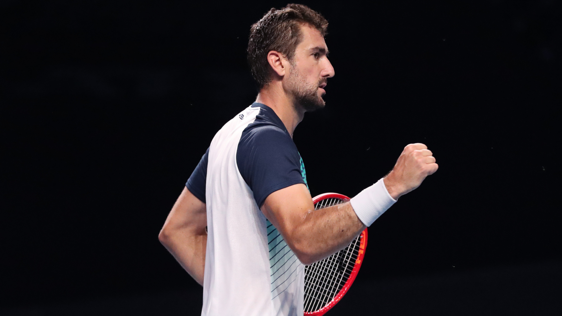 Marin Cilic made a winning start in Singapore as he attempts to match a feat achieved by only five other active players in the ATP Tour.