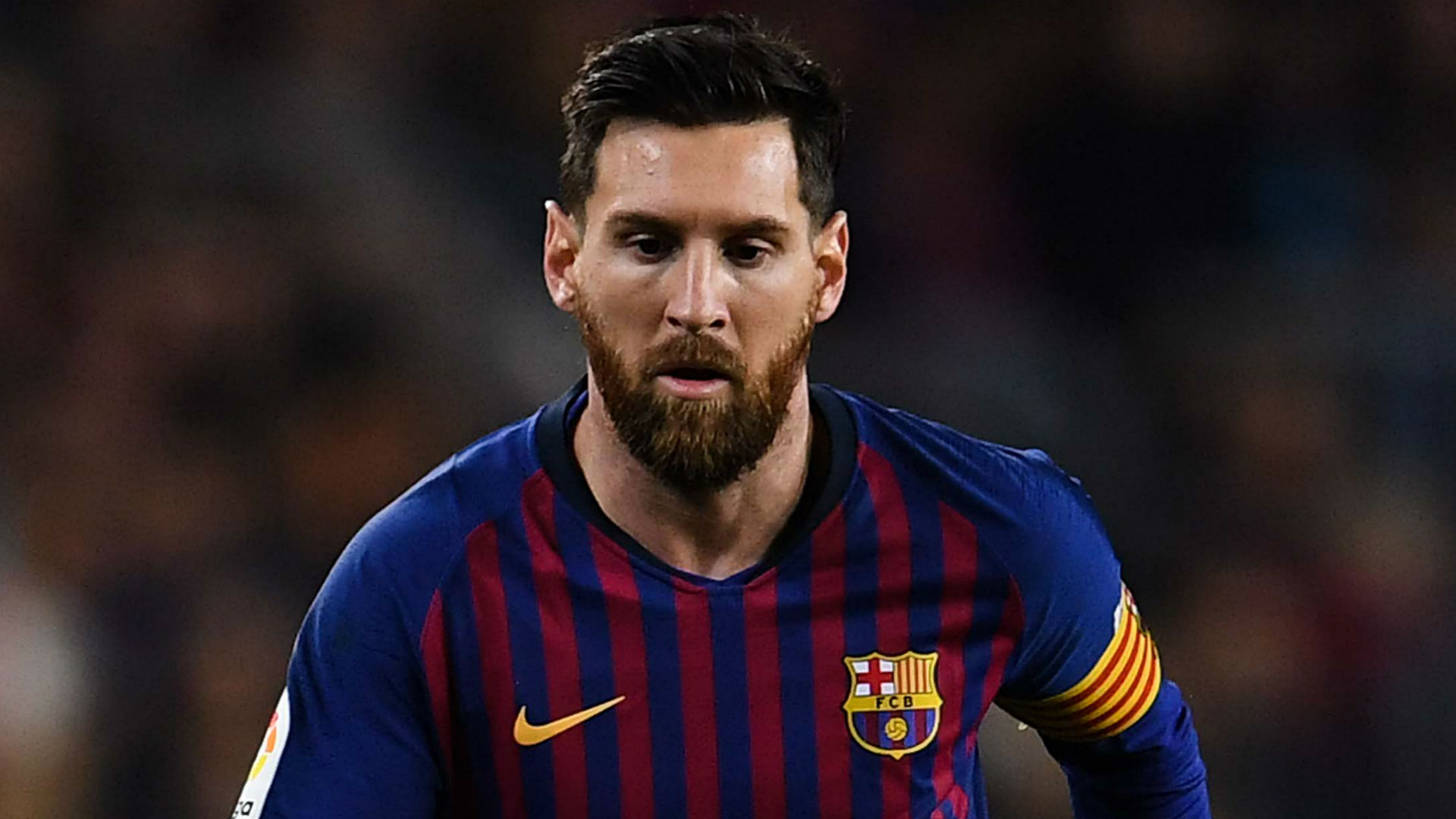 Messi at Copa Libertadores final