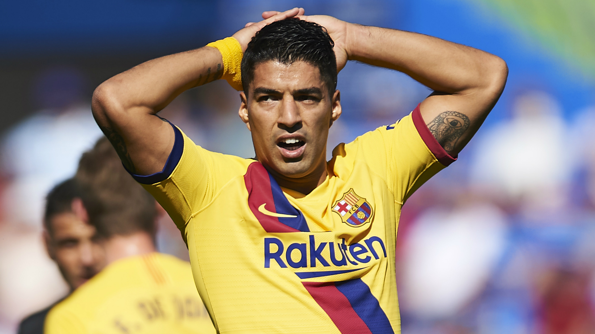 Knee surgery will rule Luis Suarez out of some high-profile engagements with Barcelona and Uruguay before the end of the season.