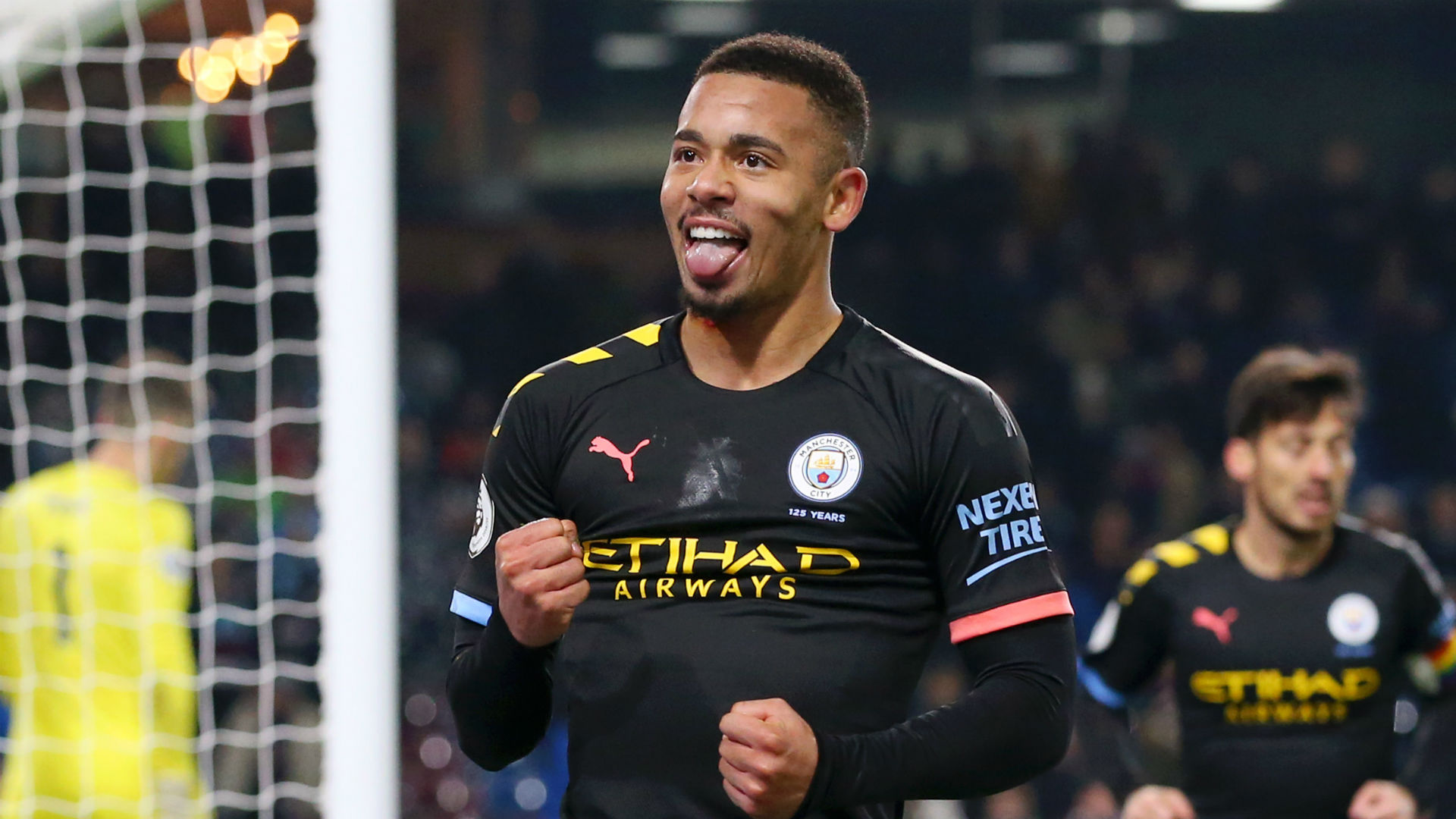 Manchester City striker Gabriel Jesus knows the pressure is on to score any time he gets to fill in for club great Sergio Aguero.