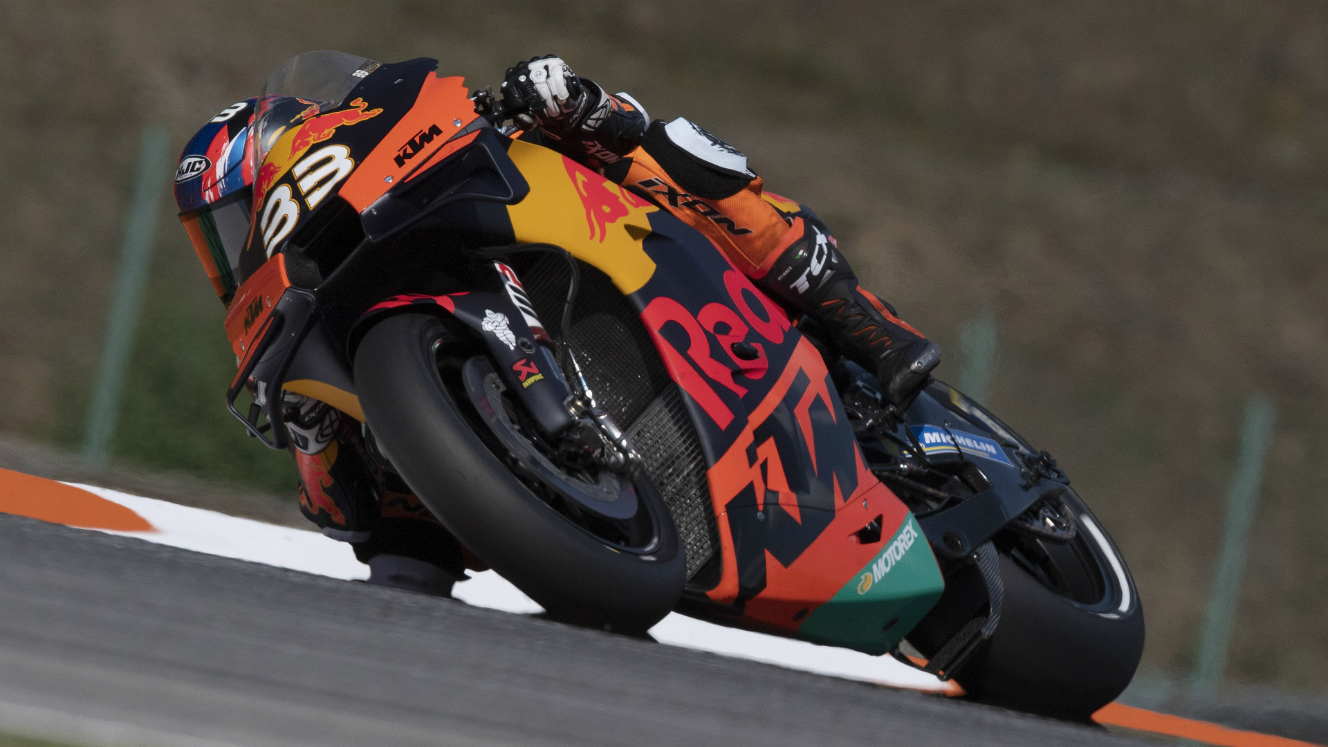 It was a day of firsts for KTM and Brad Binder, who had not yet quite comprehended his achievement at winning in MotoGP.