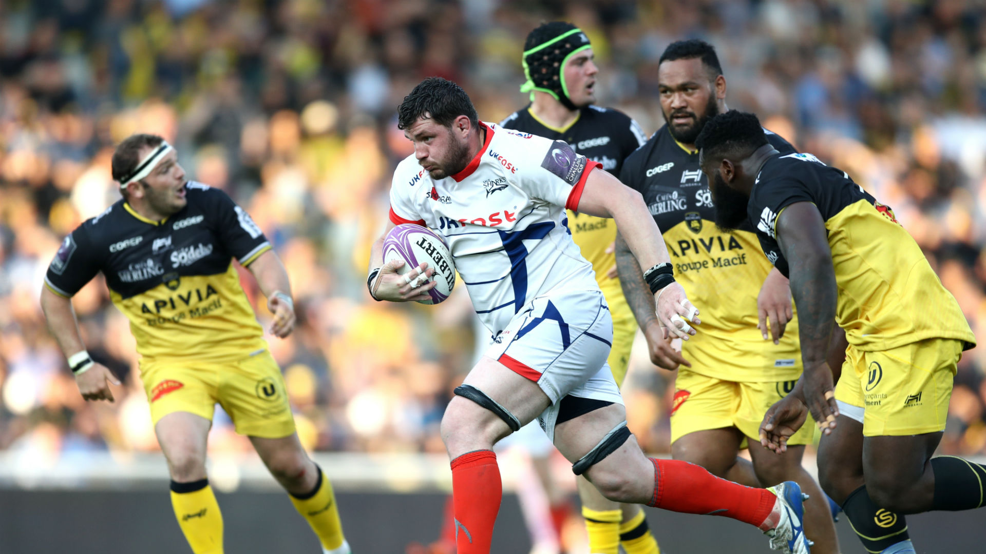La Rochelle edge Sale in semi-final