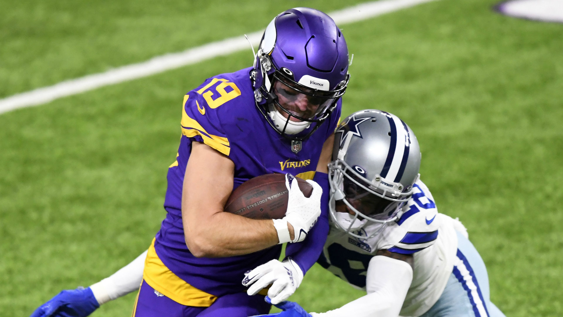 Thielen placed on COVID list