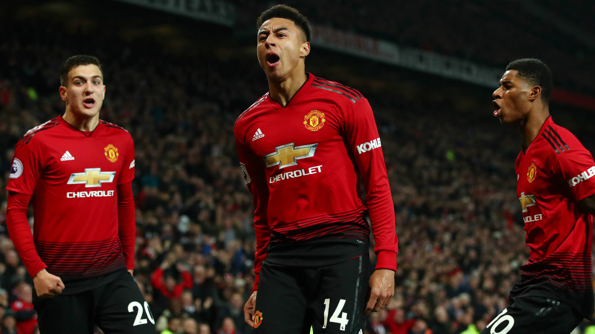 Jose Mourinho has cut a frustrated figure and cast doubt over Manchester United's top-four hopes but Jesse Lingard remains positive.
