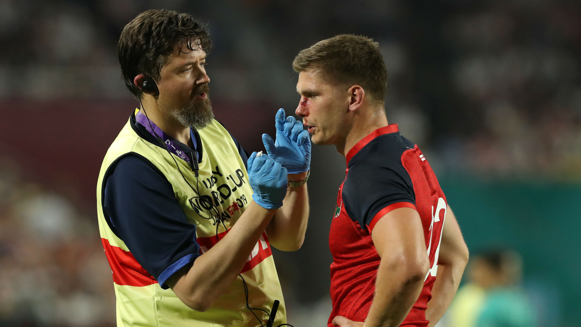 Farrell 'missing part of his nose'