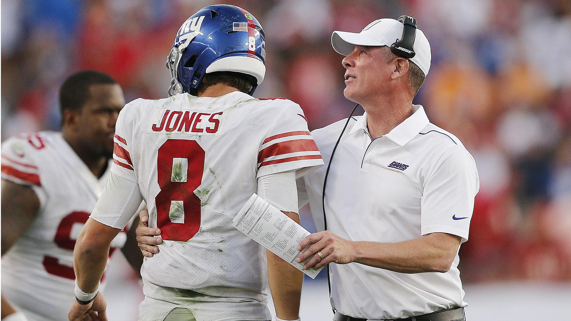 Giants' Shurmur on Daniel Jones