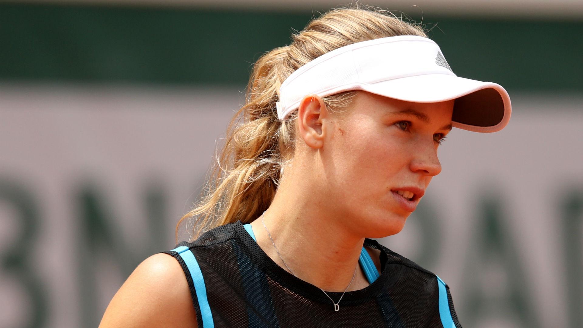 Defending champion Caroline Wozniacki and 2018 Wimbledon winner Angelique Kerber both progressed at Eastbourne on Tuesday.