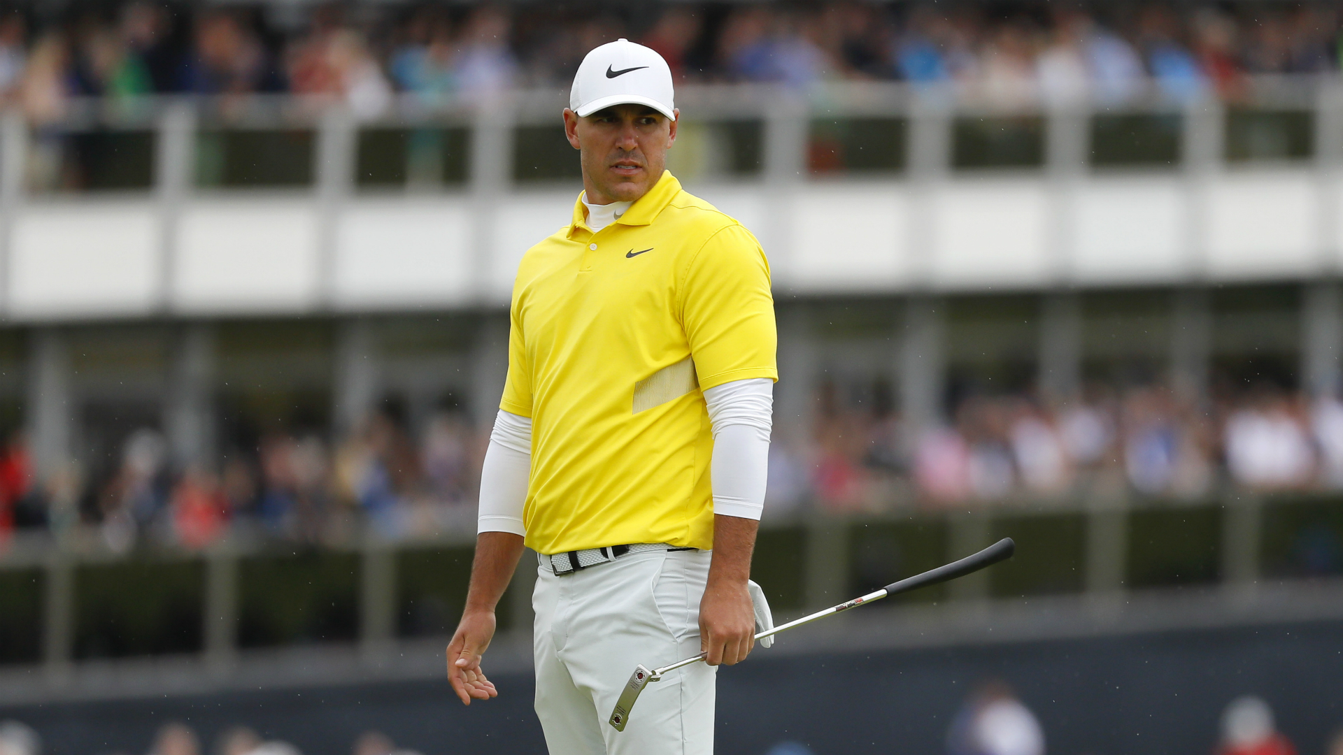 Brooks Koepka could not land another major at The Open but his stunning season has earned him another place in golf's history books.