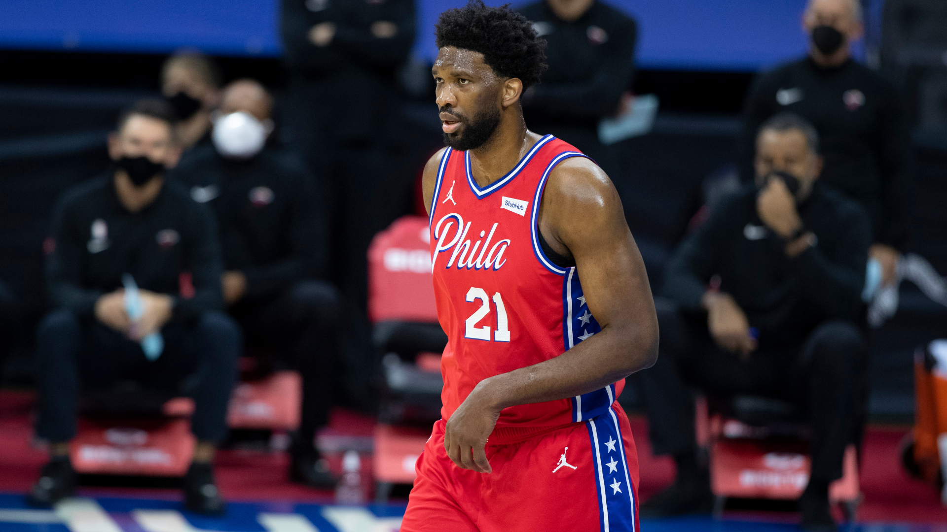After sitting out due to knee soreness, Joel Embiid is set to return against the Boston Celtics midweek.