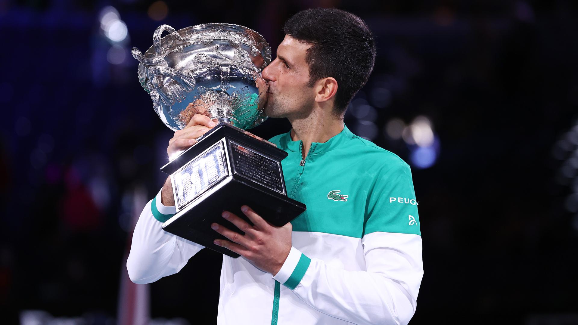 We take a look back at all nine of Novak Djokovic's Australian Open titles.