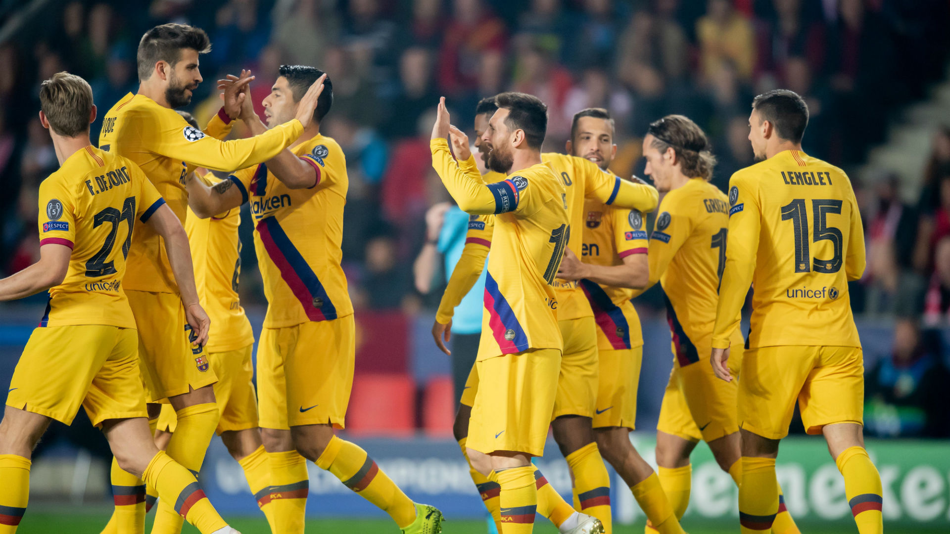 Report: Slavia Prague 1-2 Barcelona