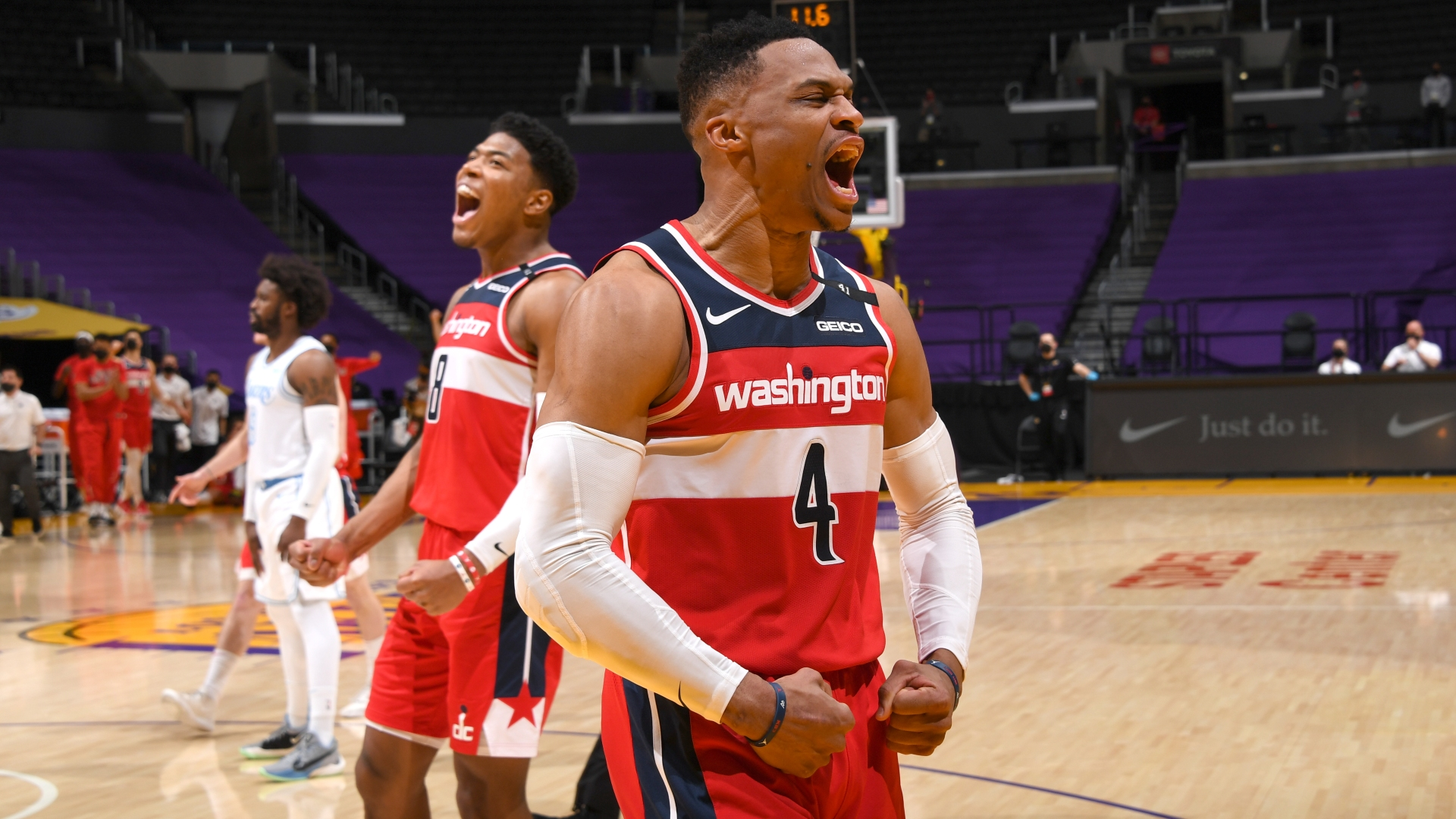 The Wizards have rallied from 6-17 to produce an impressive run of results, delighting former NBA MVP Russell Westbrook.