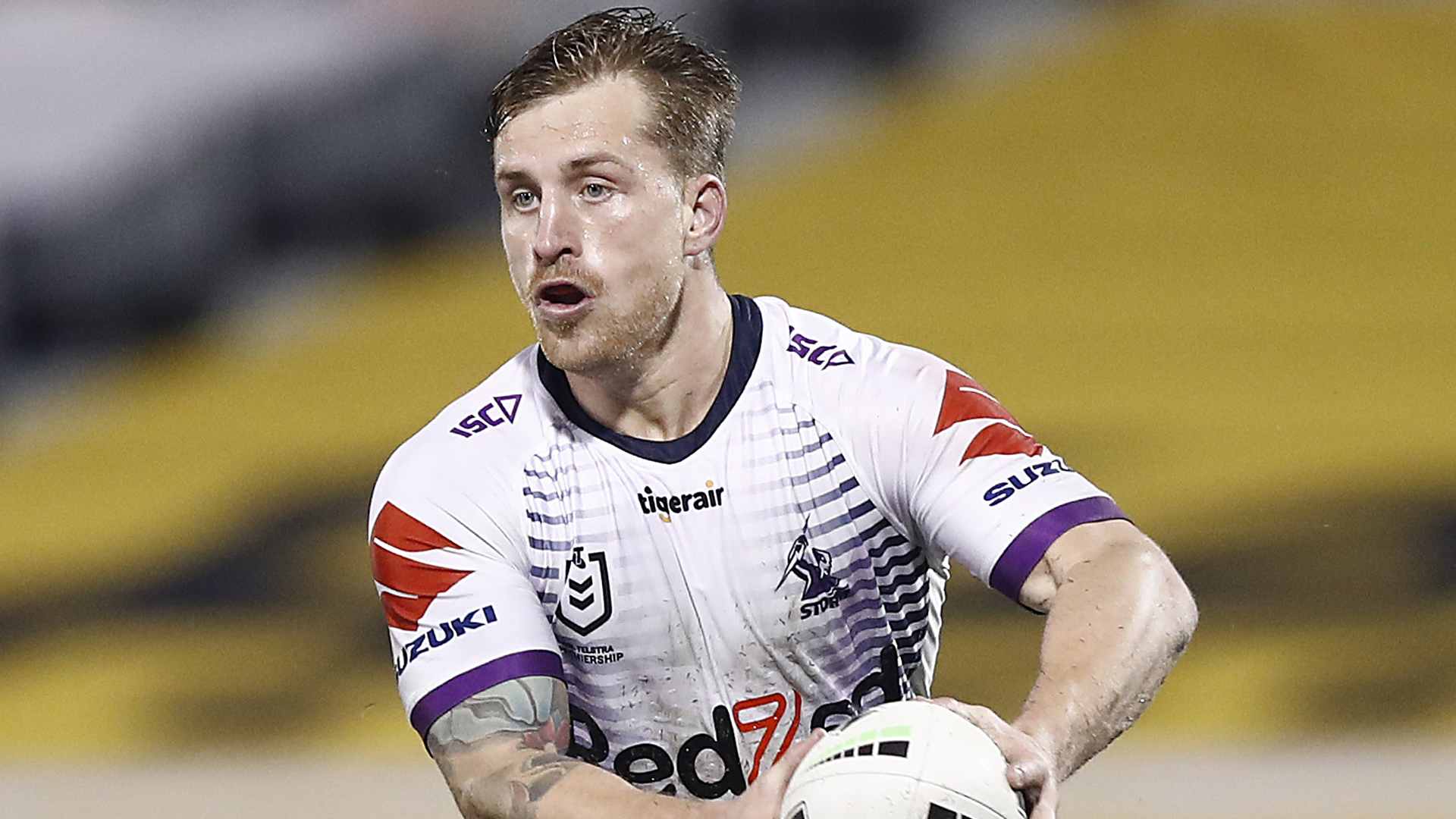 A knee injury will see Melbourne Storm star Cameron Munster miss up to a month.