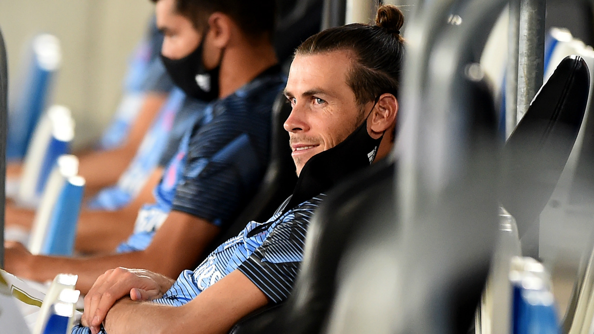 Gareth Bale was not named in Real Madrid's group to head to Manchester City even though the unavailable Sergio Ramos was.