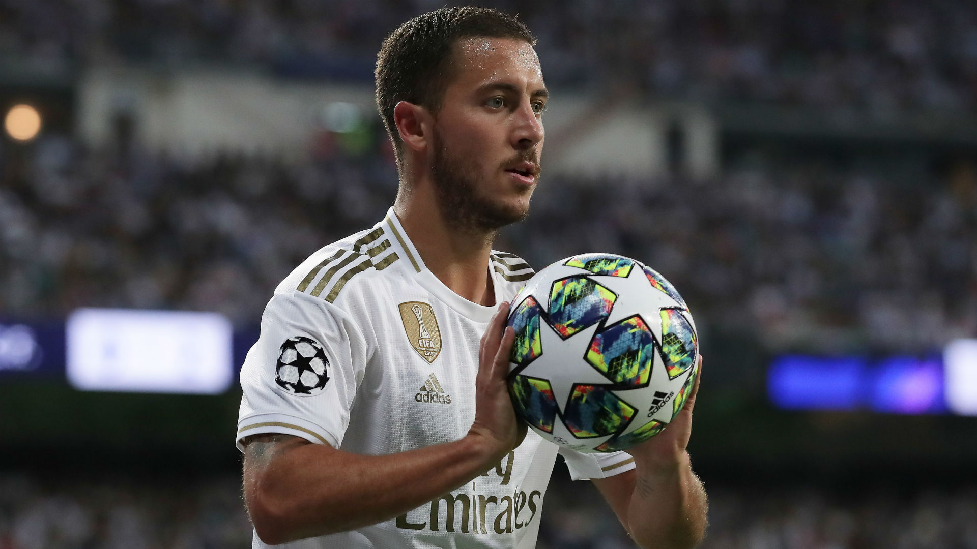 Eden Hazard was wasteful against Galatasaray on Tuesday, but Real Madrid coach Zinedine Zidane says he is not worried.