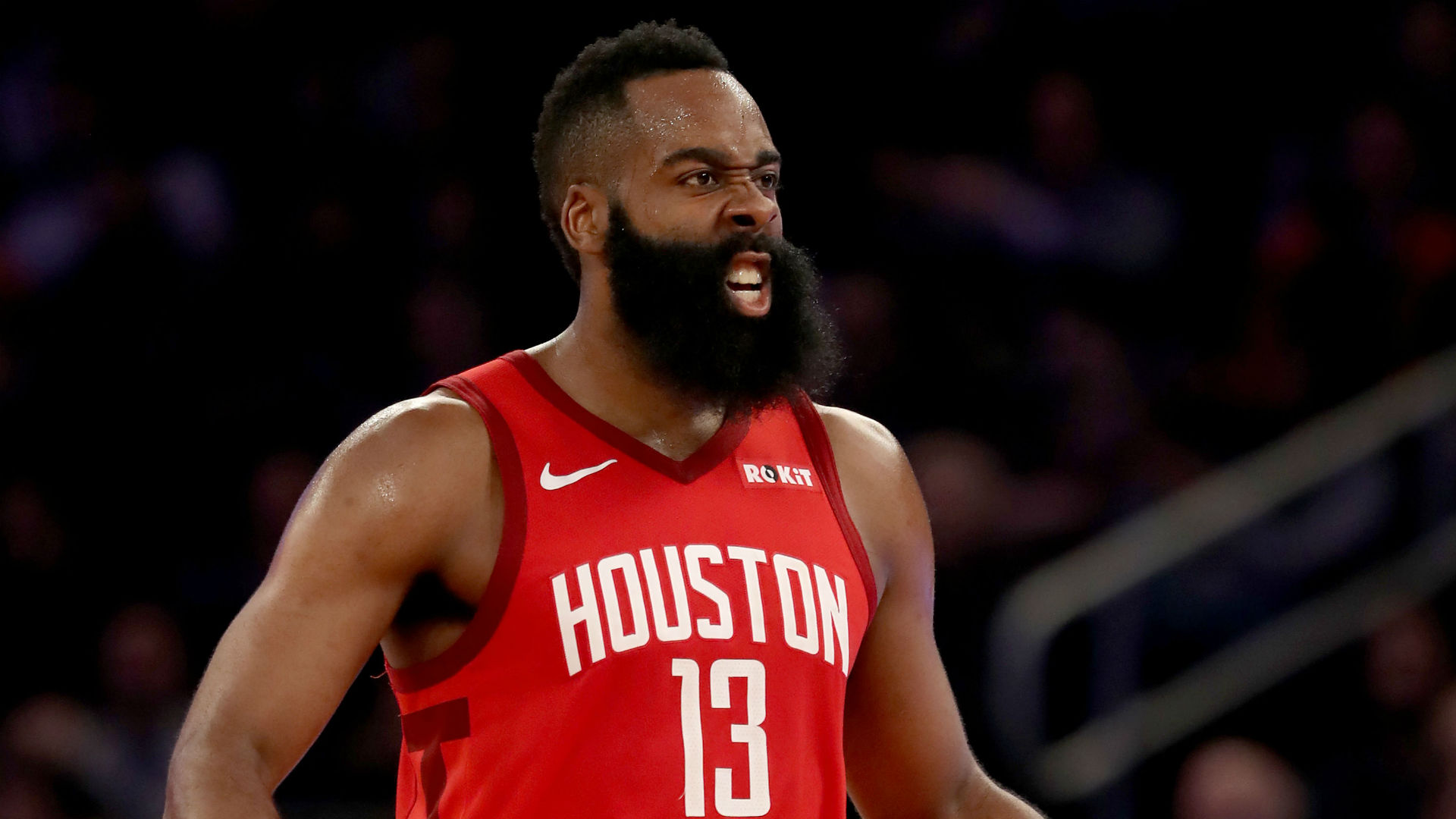 James Harden had to contend with Ricky Rubio's peculiar approach to guarding on Sunday, with the Utah Jazz trying to stop his step-backs.