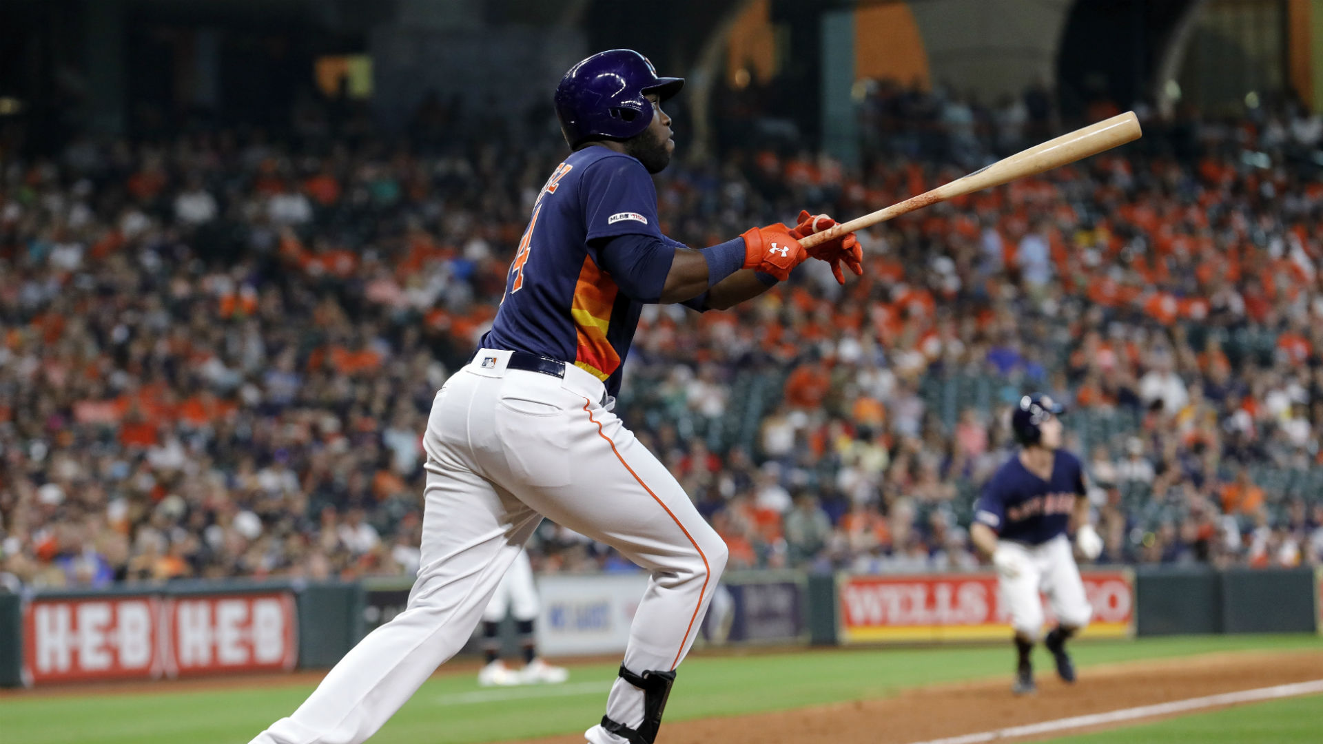 The Astros tallied 22 hits from 11 different batters against the Mariners, and Yordan Alvarez led the way offensively.