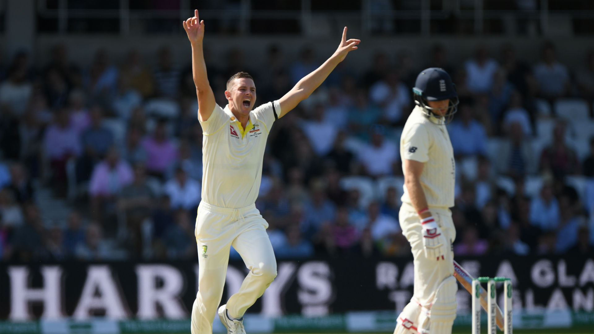 Australia are in command of the third Test and set to retain the Ashes after England were bowled out for their lowest total at Headingley.