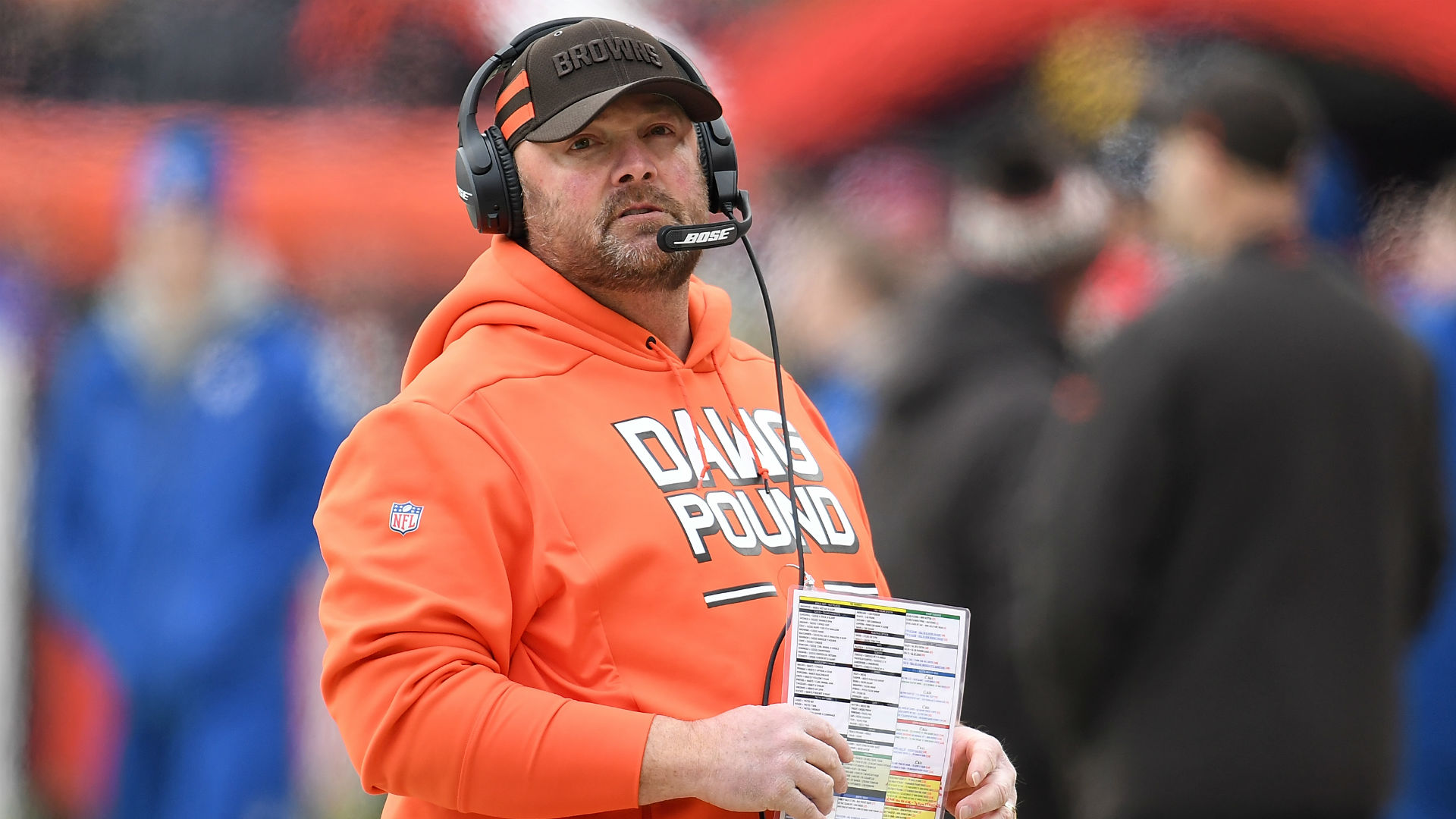 After his impressive work with Baker Mayfield and a Browns team which won seven games, Freddie Kitchens has been named head coach.