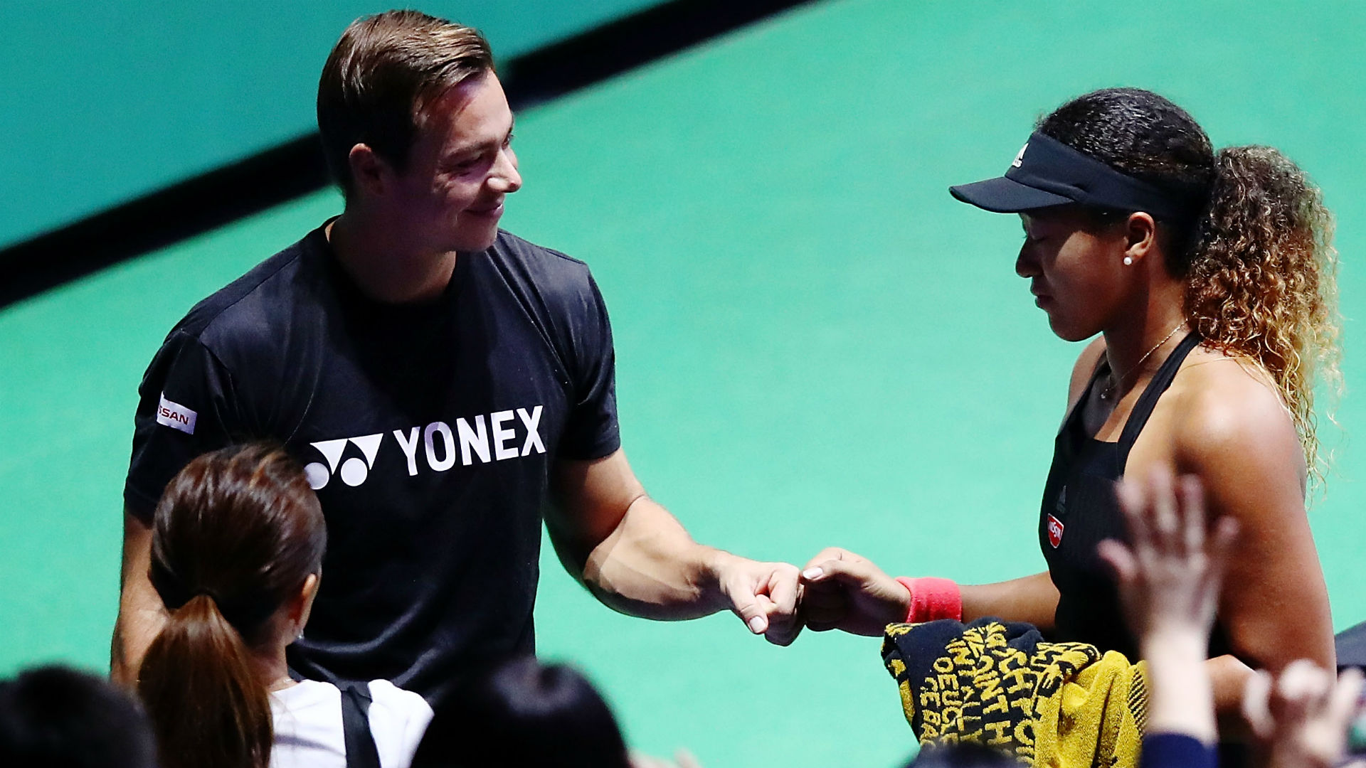 After steering Naomi Osaka to a breakthrough year and grand slam glory, her coach Sascha Bajin has earned recognition from the WTA.