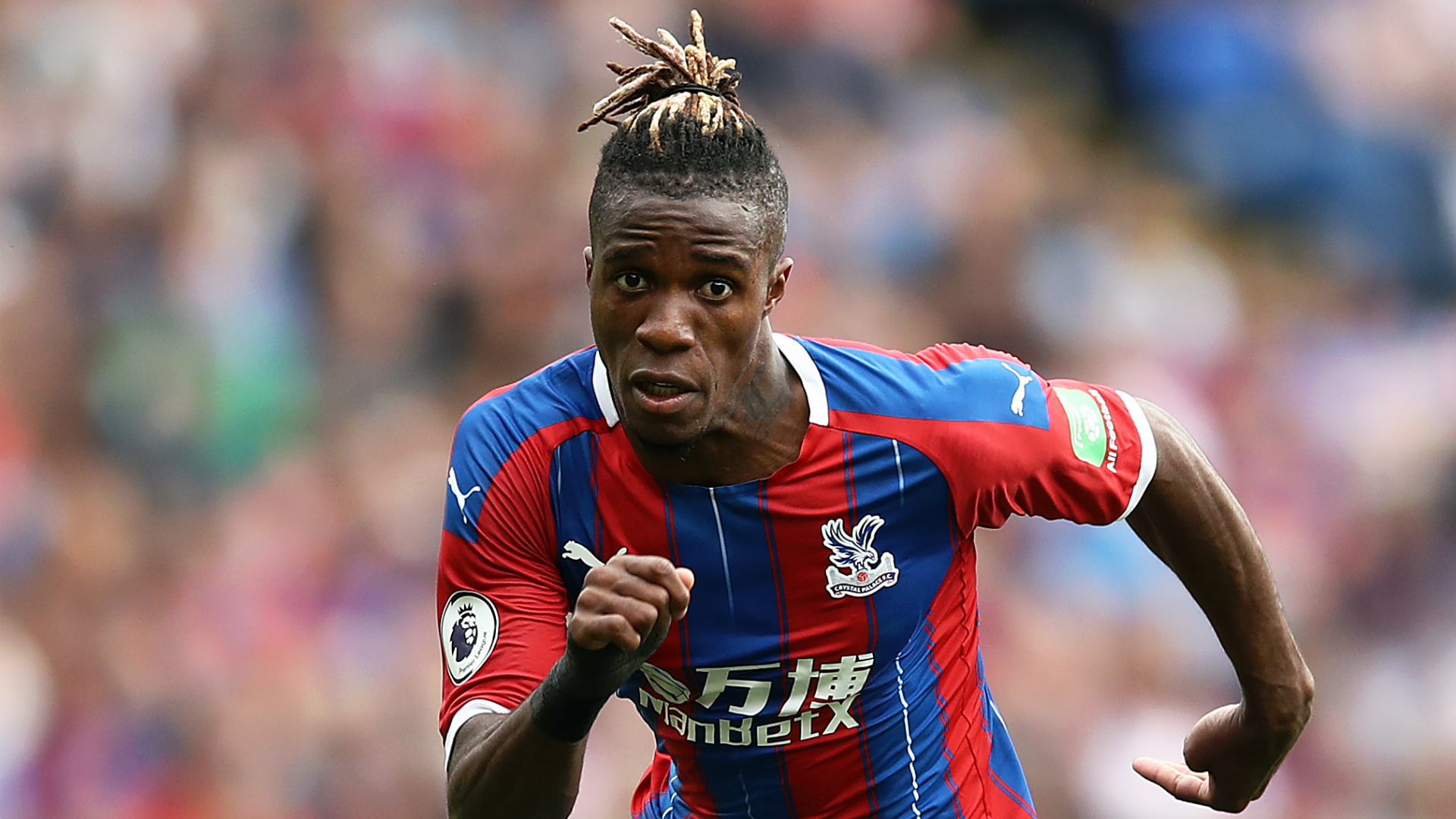 """Roy Hodgson has commended Wilfried Zaha's """"mature"""" response to not being sold by Crystal Palace, which was a possibility."""