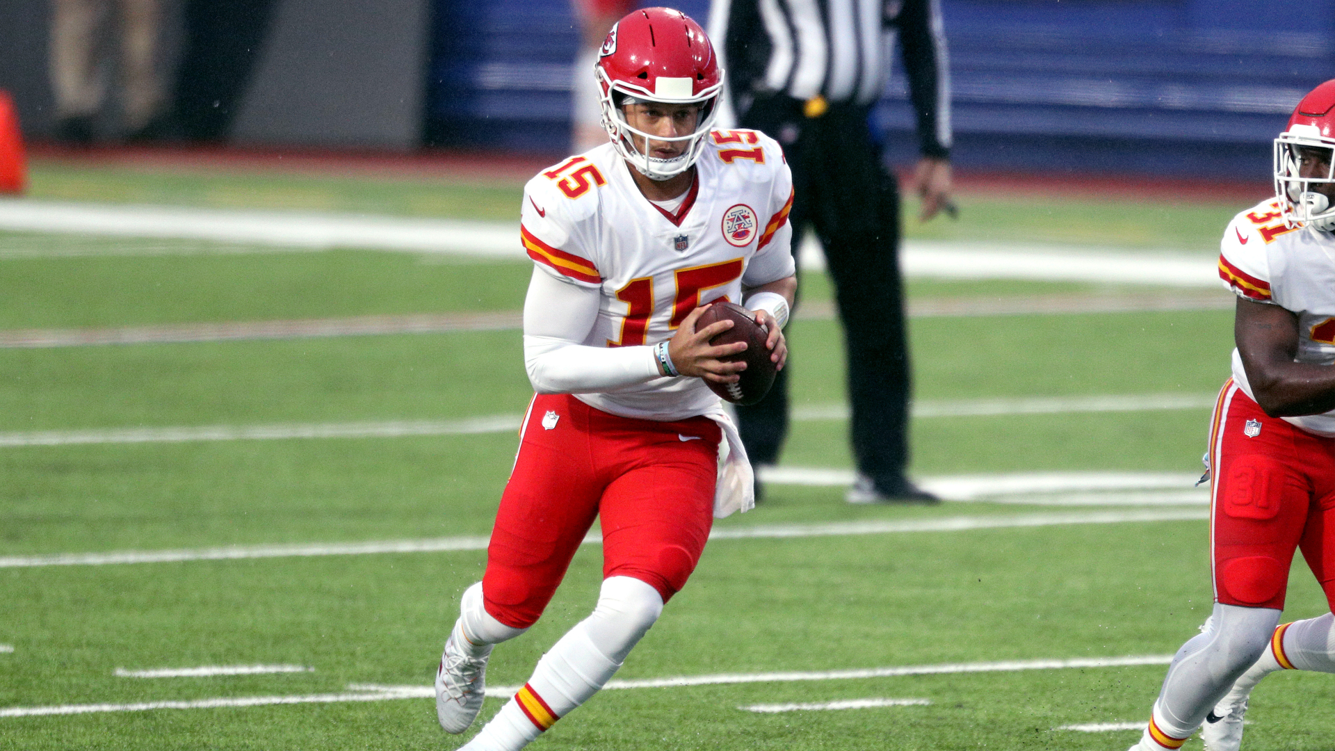 Patrick Mahomes is happy for the Kansas City Chiefs to take whatever approach is going to help them win.