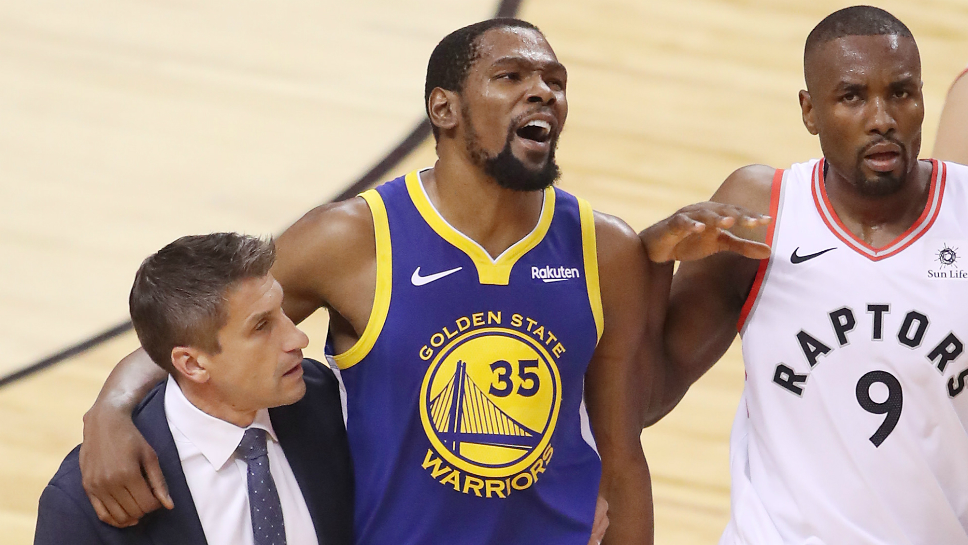 Golden State Warriors star Kevin Durant confirmed he suffered a ruptured Achilles in Game 5 of the NBA Finals against the Toronto Raptors.